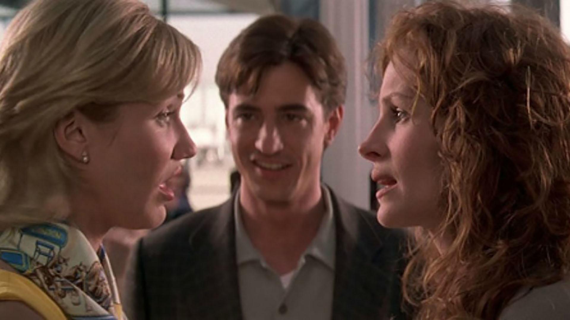 """""""La boda de mi mejor amigo"""" (1997) es una comedia romántica dirigida por P. J. Hogan"""