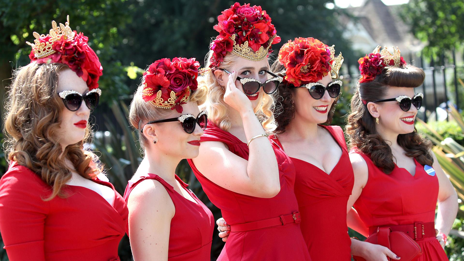 El look compartido es otra de las tendencias que se aprecia en Ascot