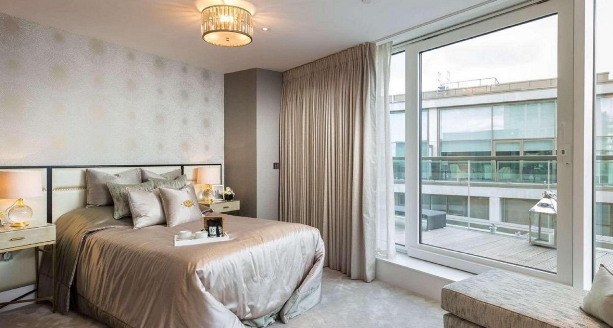 Los lujosos departamentos que recibirán a las familias son parte de las 120 viviendas accesibles que se construyen en la zona (berkeleygroup.co.uk)
