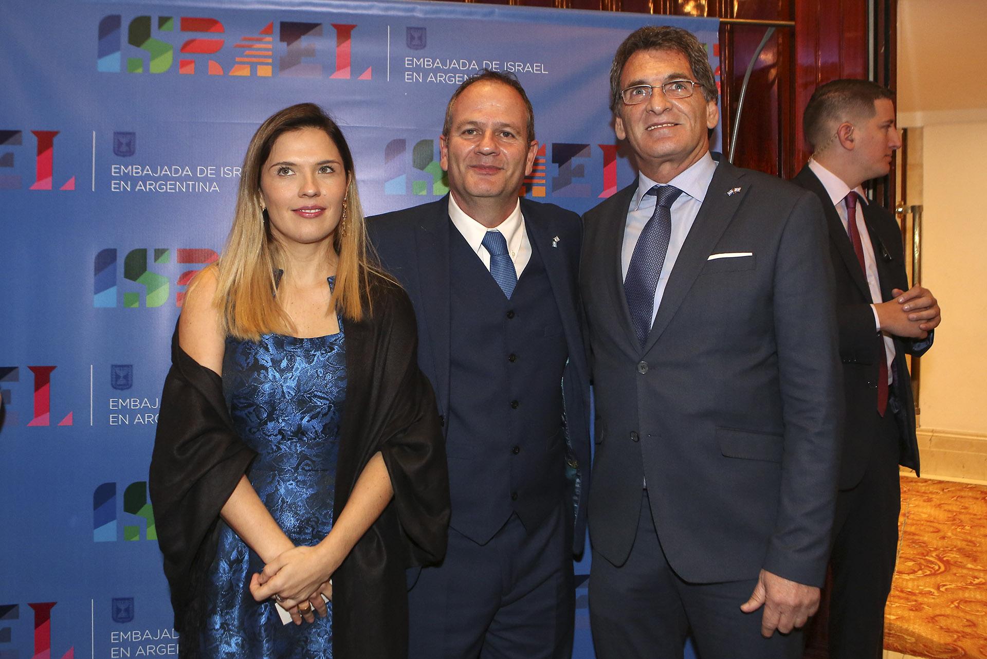 El embajador y su esposa reciben a Claudio Avruj, secretario de Derechos Humanos y Pluralismo Cultural