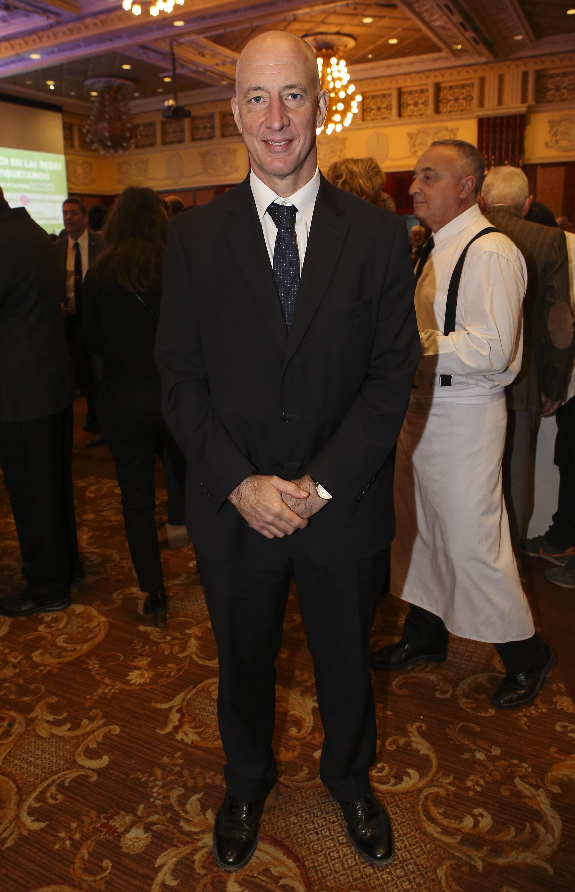 El embajador británico, Mark Kent