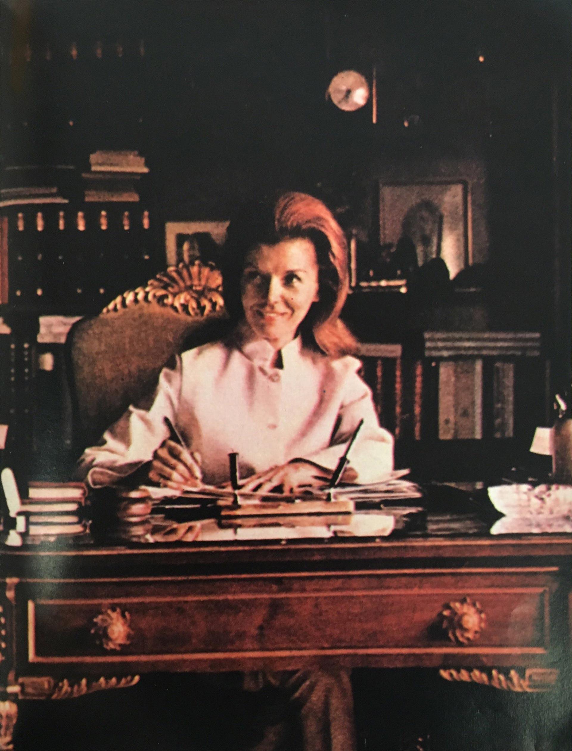 """María Estela Martínez de Perón, """"Isabelita"""", la primera presidenta constitucional de Argentina"""