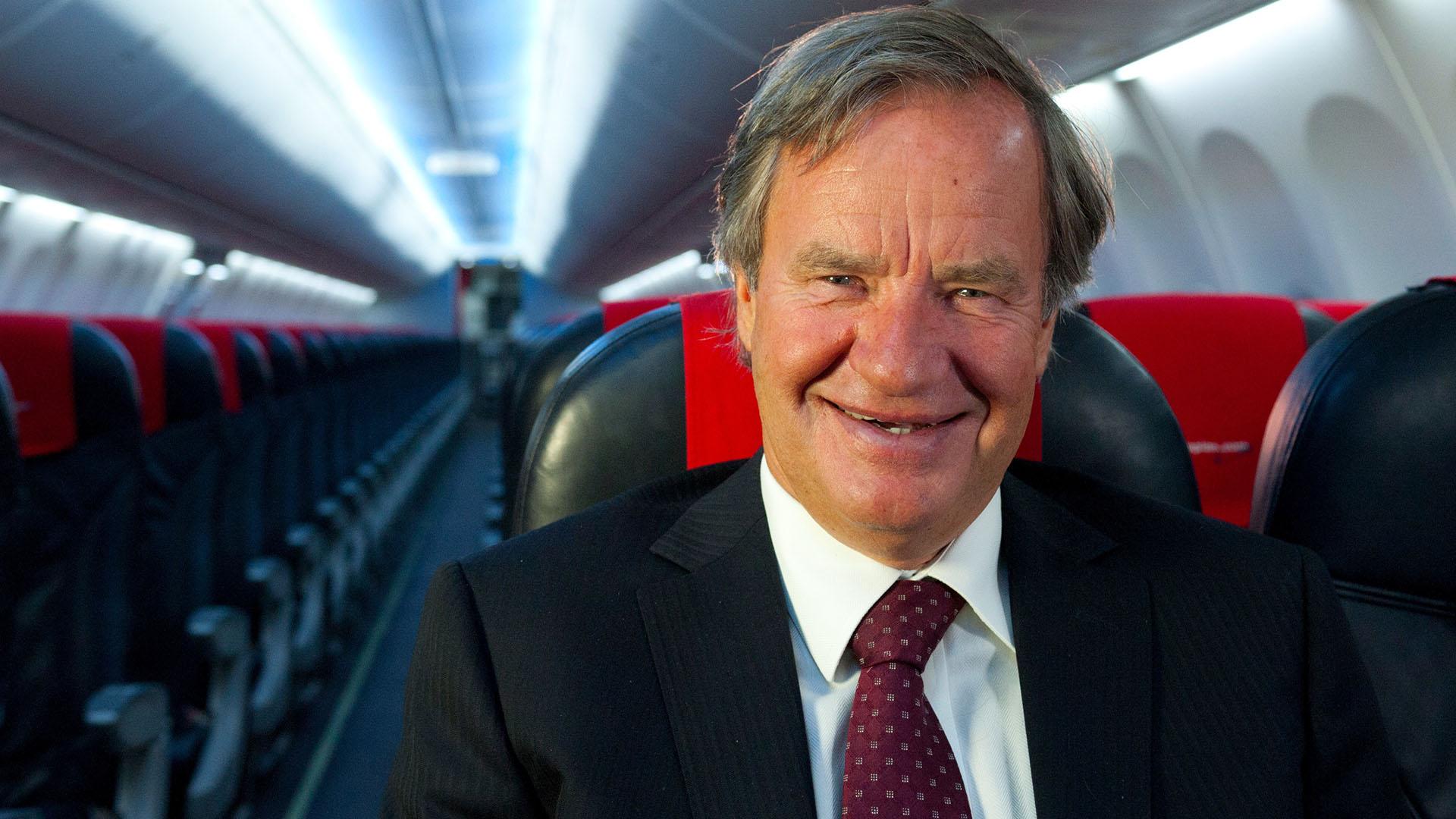 Bjorn Kjos, CEO de Norwegian Airlines