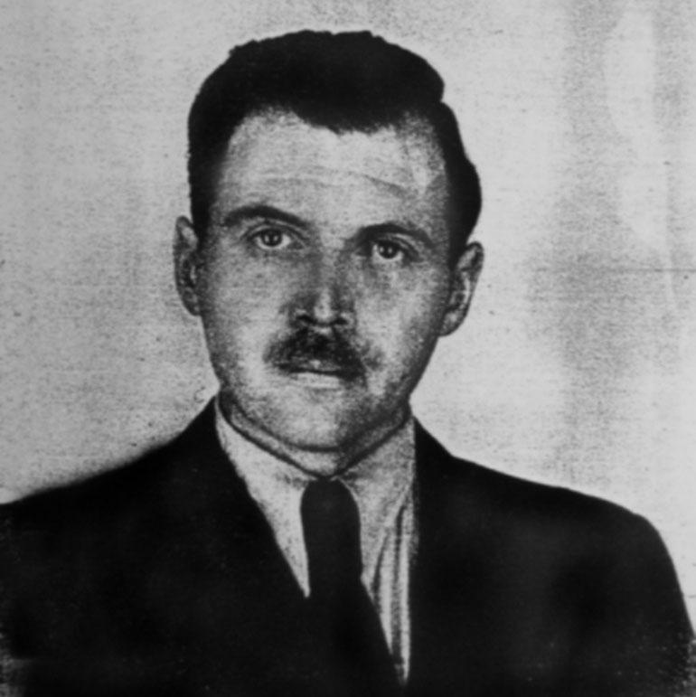 Joseph Mengele:la información oficial señaló que estaba en santos, un pueblo costero, y que se ahogó en elmar. El tío de Levinas también participó de la caza de este criminal nazi