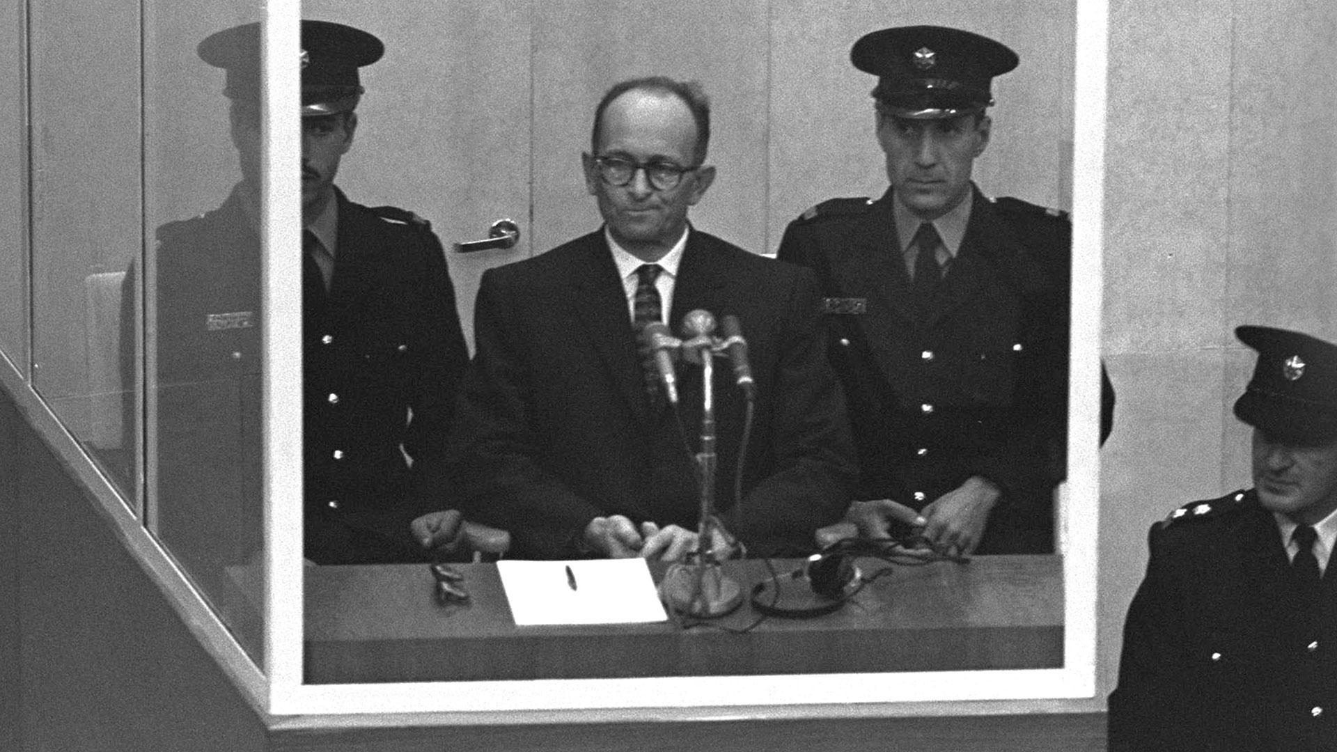 El 15 de diciembre de 1961 Eichmann fue condenado a morir en la horca por crímenes contra la Humanidad (Getty)