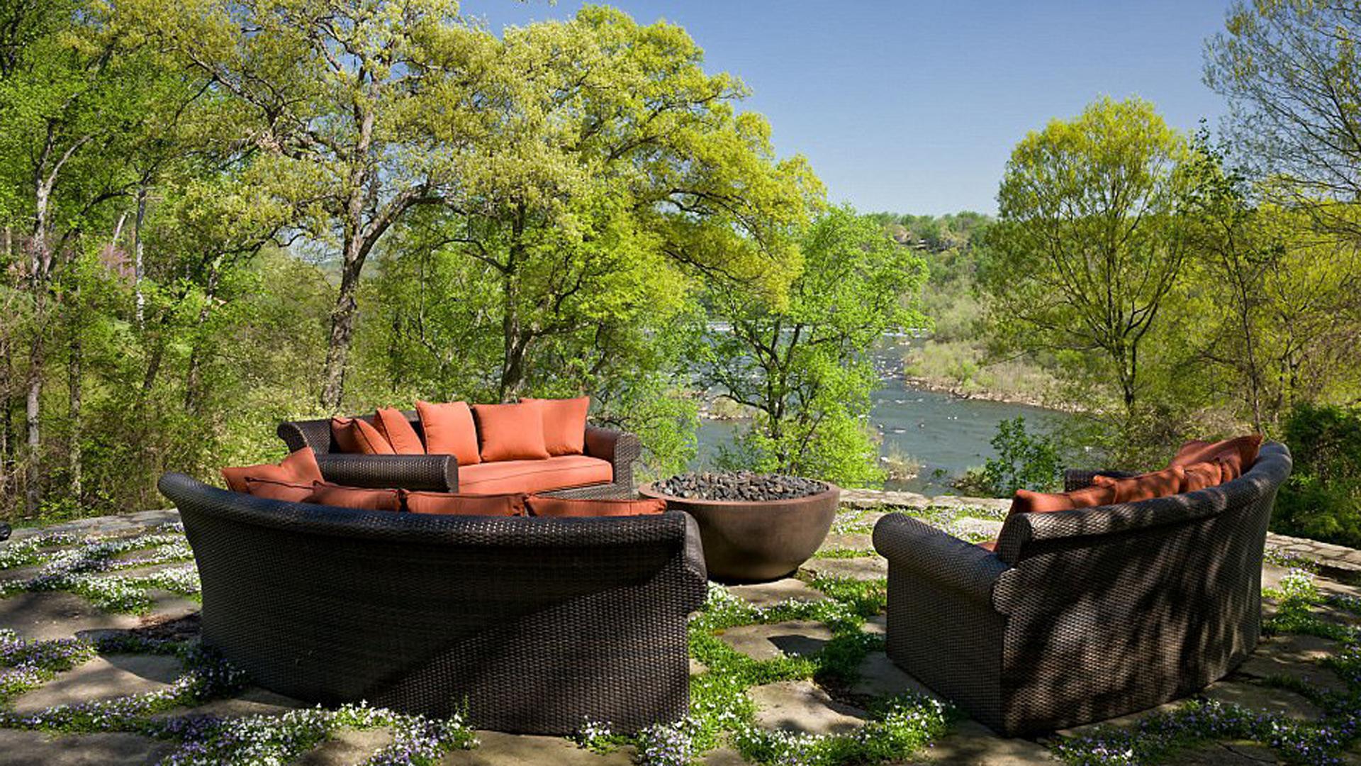 Posee una vista exclusiva del río Potomac