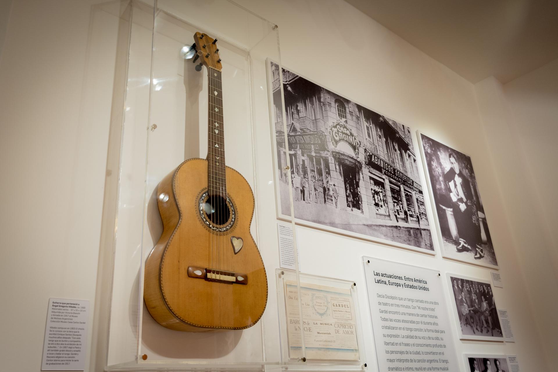 La guitarra fue el instrumento que lo acompañó en toda su carrera. (Martín Rosenzveig)