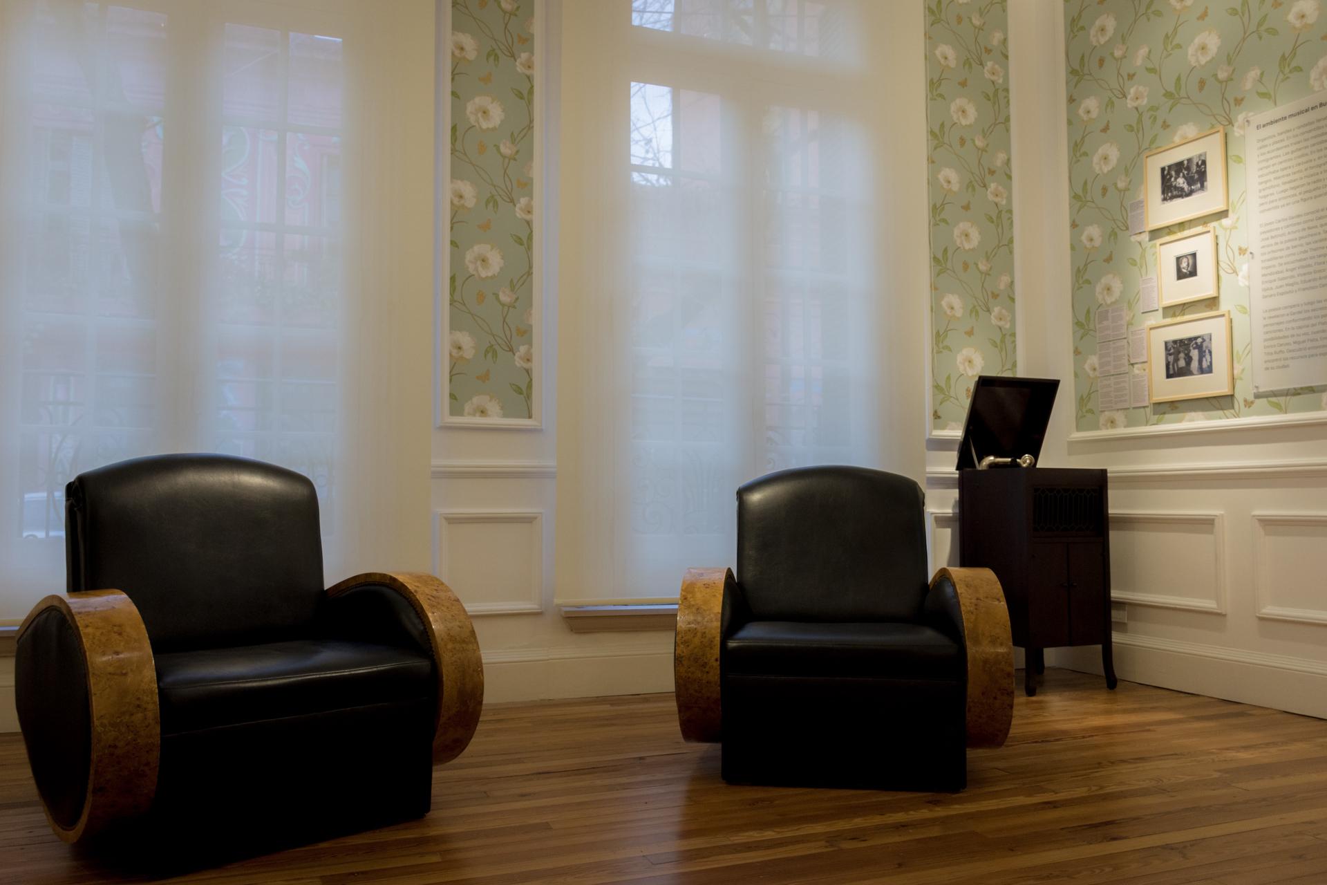 Una de las habitaciones en el Museo que refleja los muebles de la época. (Martín Rosenzveig)