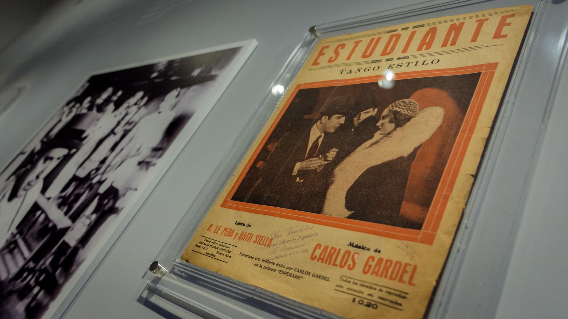 """Partitura original del tango """"Estudiante"""". (Martín Rosenzveig)"""