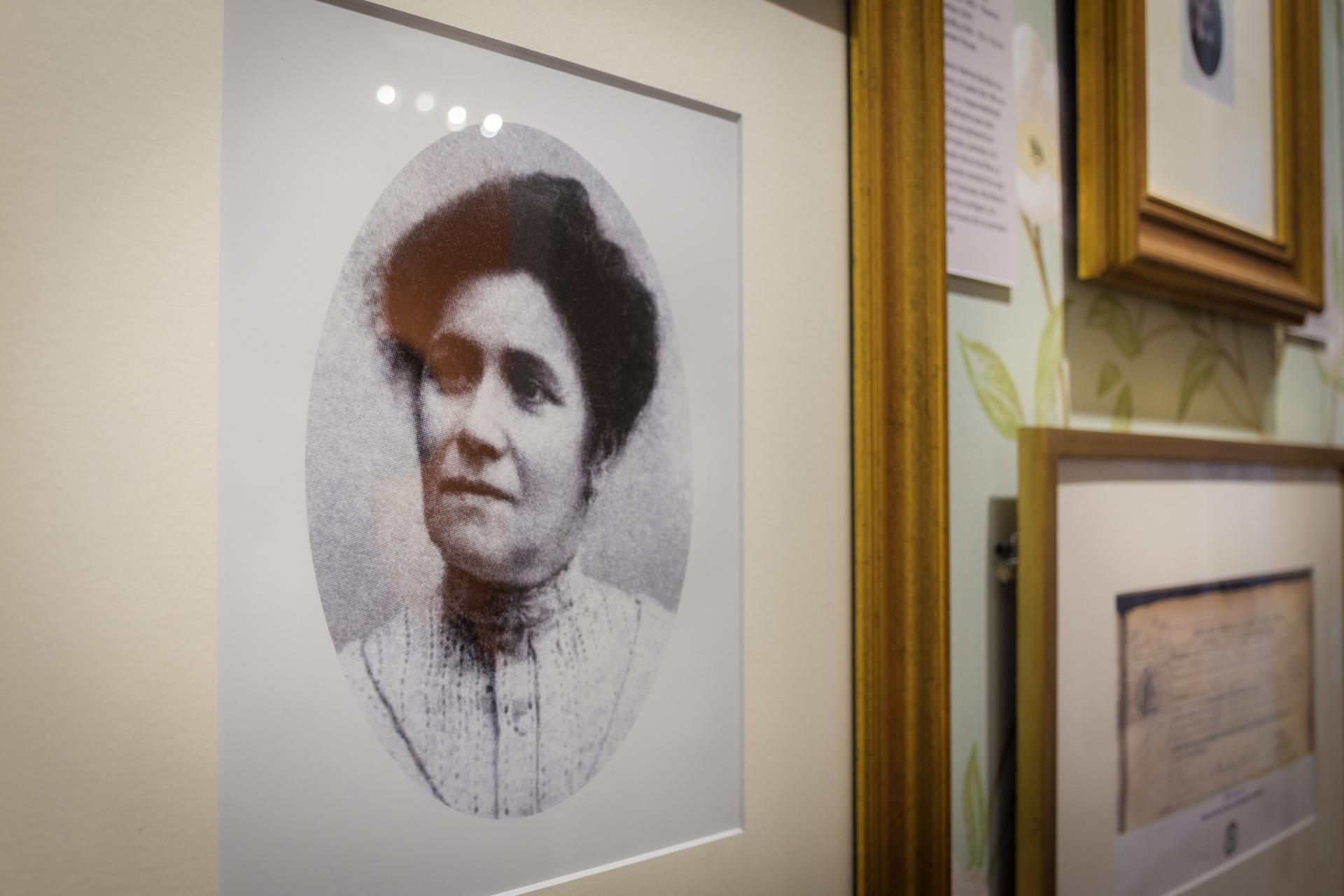 Madre. Berthè Gardes lo crió sola ante la indiferencia de su familia. (Martín Rosenzveig)