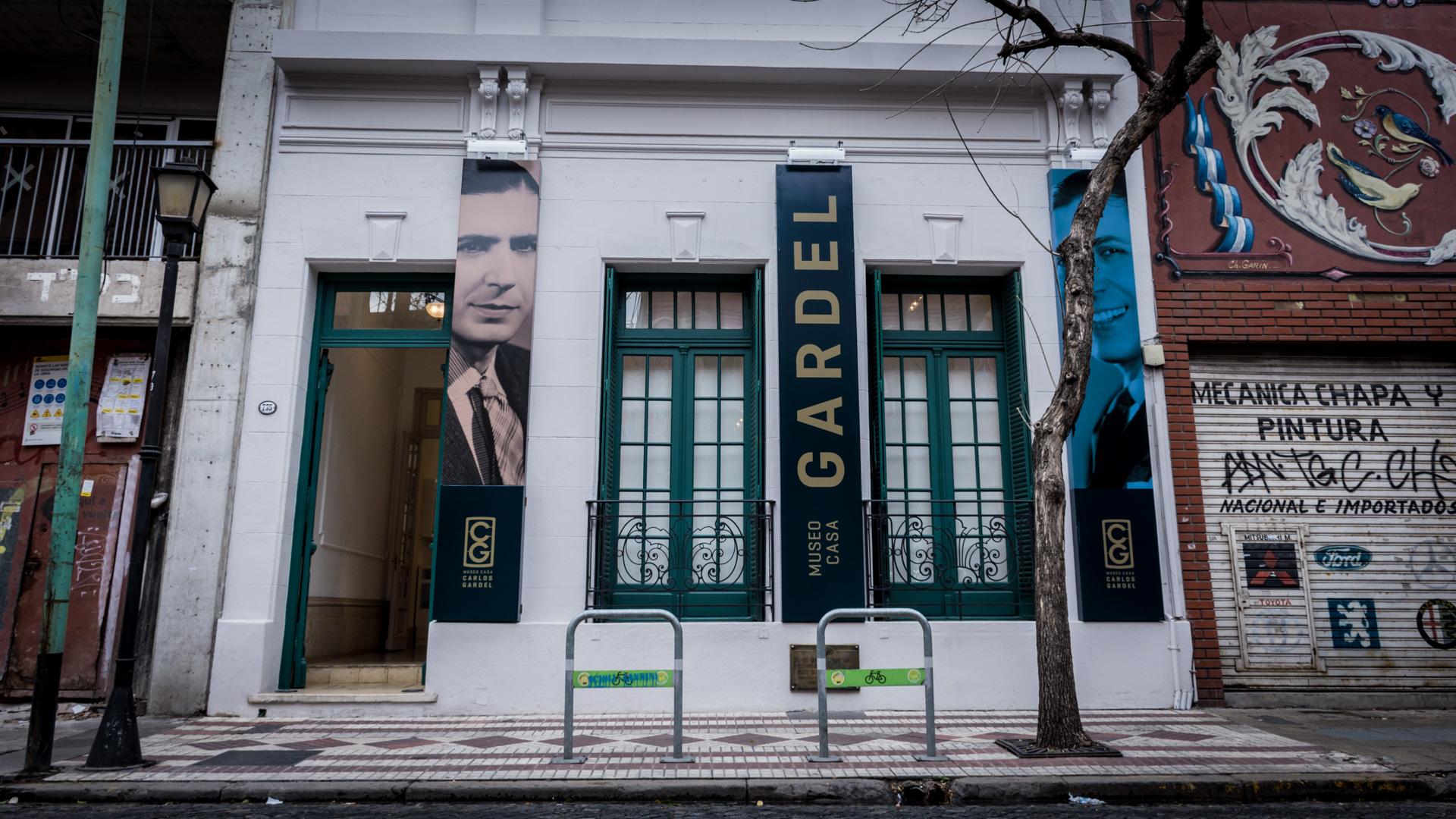 Jean Jaures 735. Es imprescindible visitar esta casa para conocer más de la vida de Gardel. (Martín Rosenzveig)