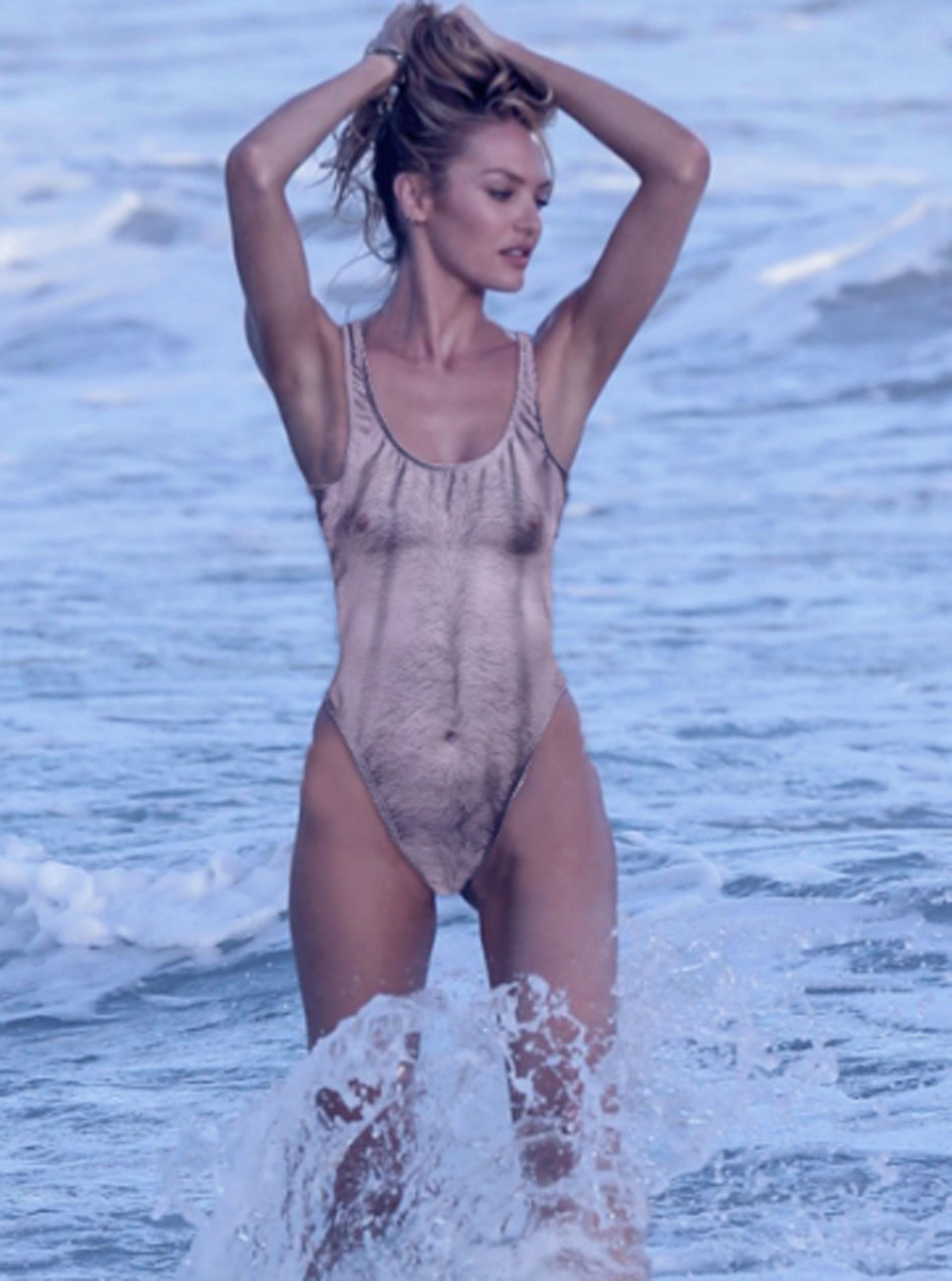 Candice, la histórica modelo y ángel de Victoria's Secret que luego de ser madre vuelve a ser la imagen de la marca