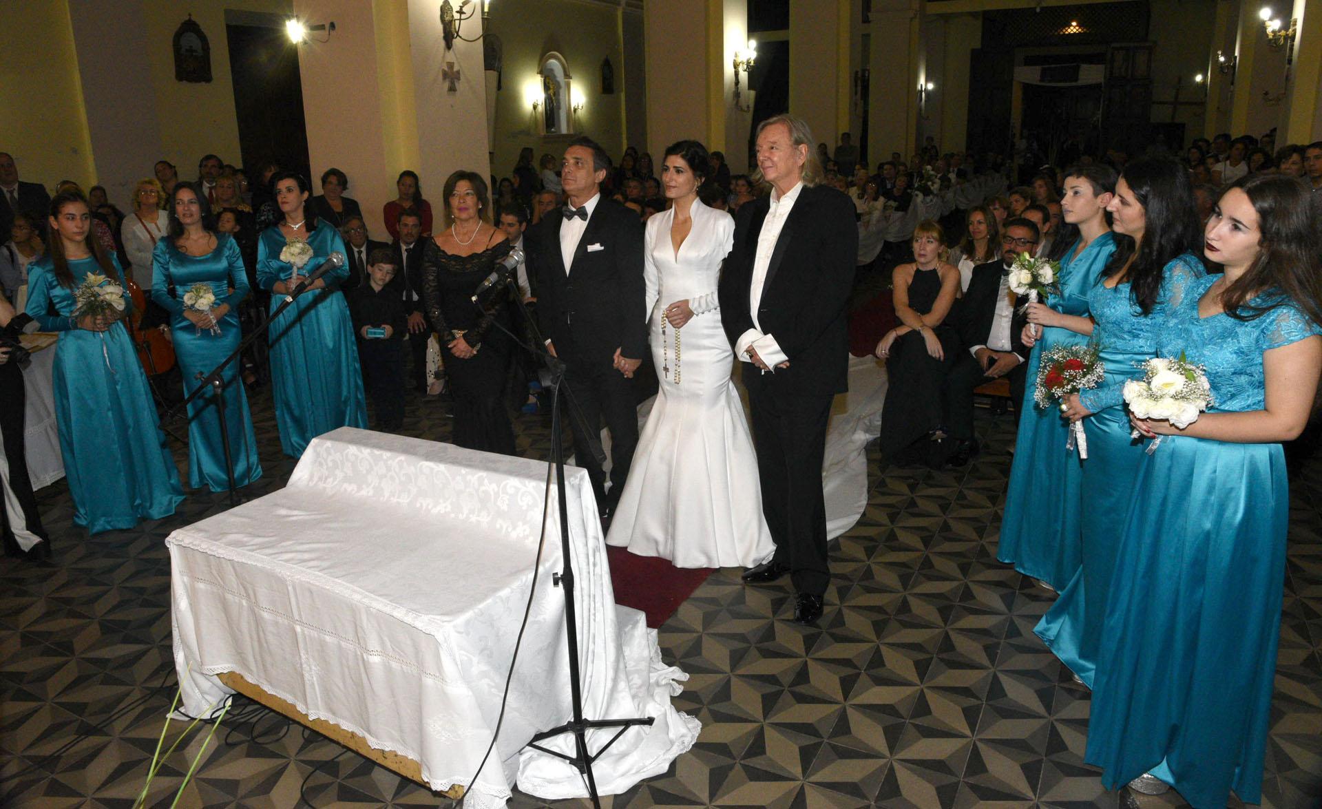 """La pareja dio el """"sí"""" en Bella Vista, Corrientes, la ciudad natal del humorista"""