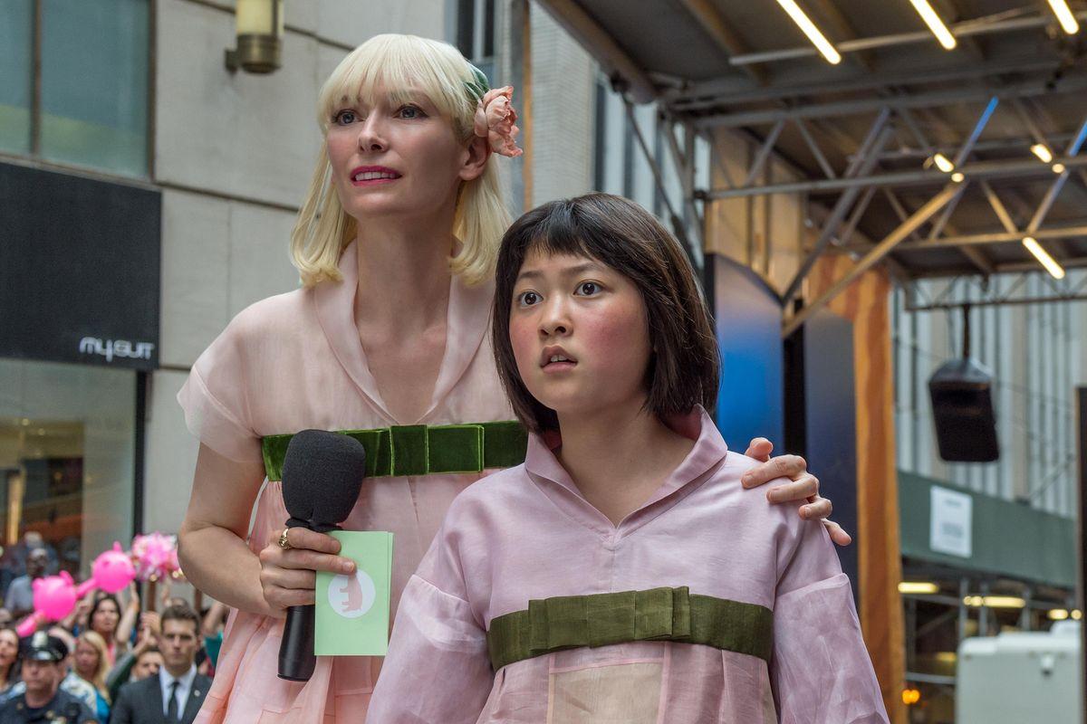 """""""Okja"""", una de los producciones originales de Netflix que compitió el año pasado y abrió el debate"""