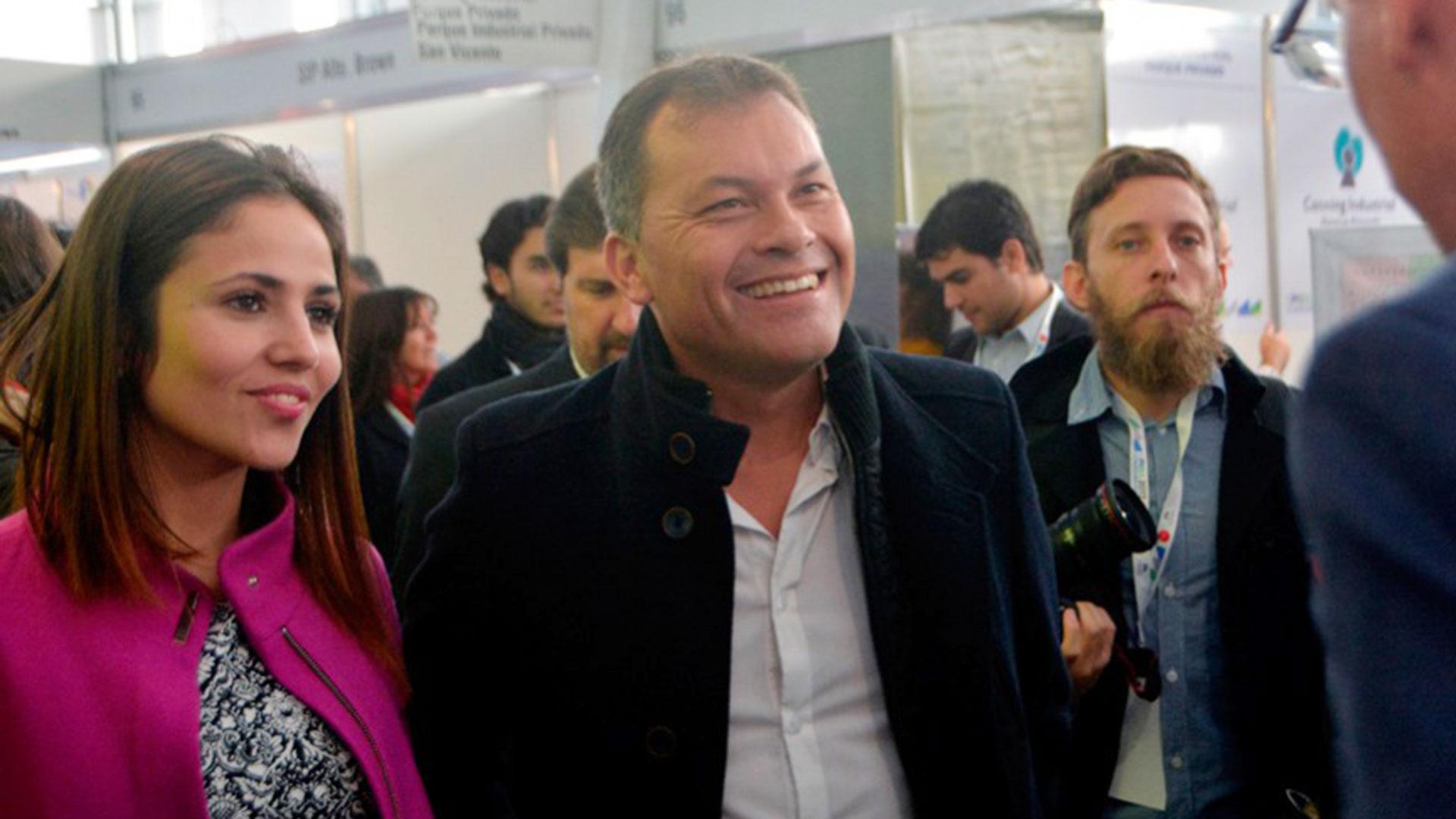 El intendente de Moreno, Walter Festa