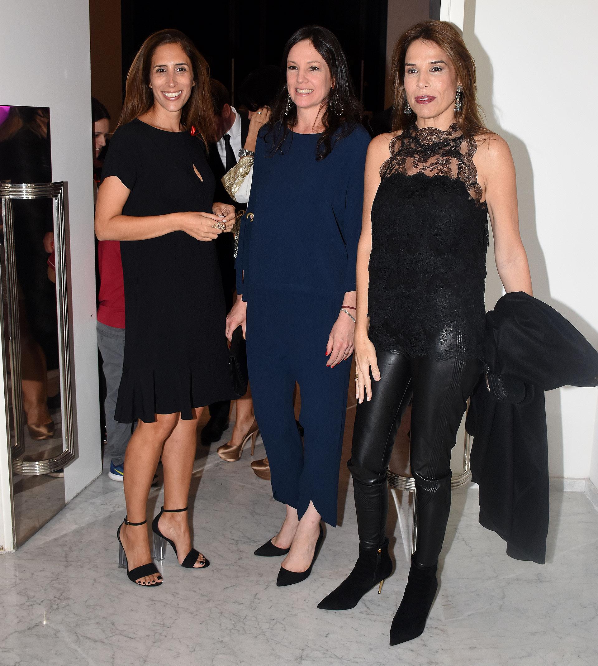 Florencia Perotti, Carolina Stanley y Agustina Caputo