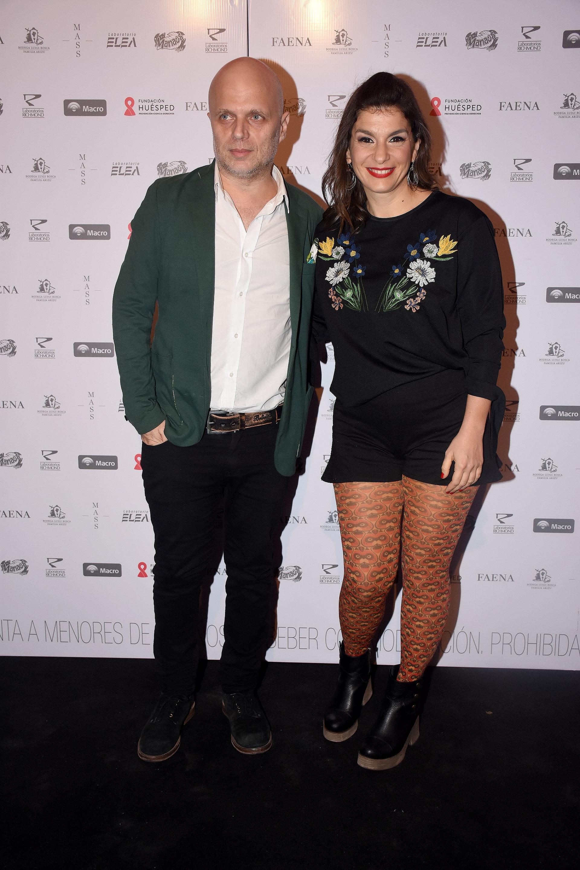 Sebastián Wainrach y Dalia Gutmann divirtieron a los invitados con sus monólogos