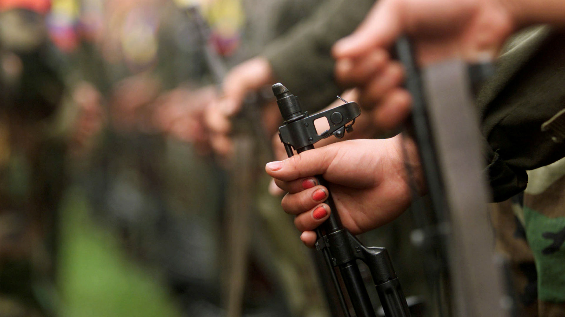Armas de las FARC