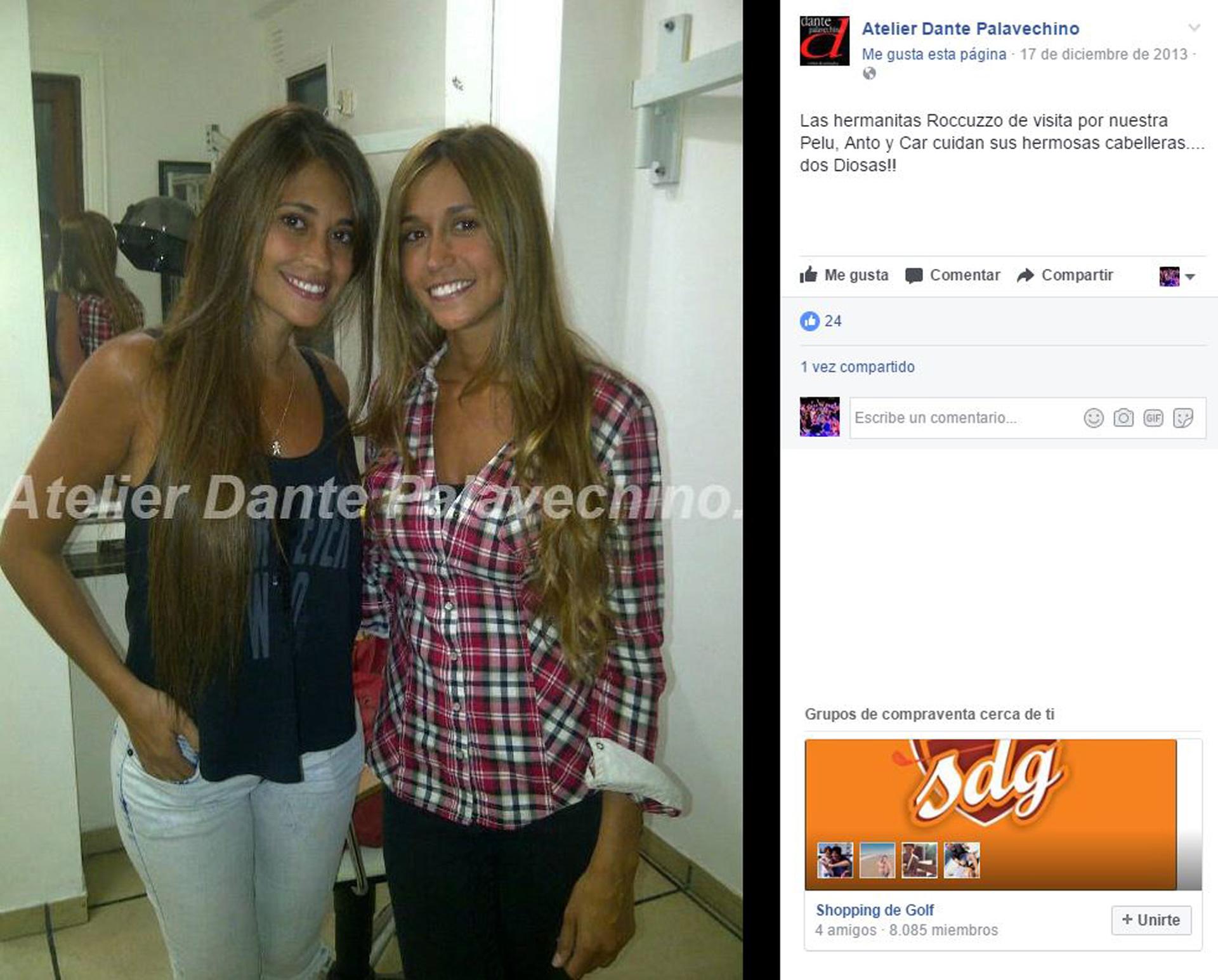anto pelu hermanas facebook