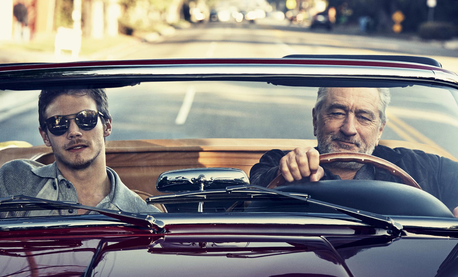 McCaul Lombardi y Robert De Niro para Ermenegildo Zegna