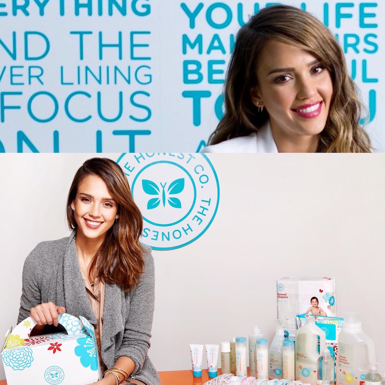 Jessica Alba lanzó en 2011 Honest Company ofreciendo pañales y toallitas supuestamente seguras para la delicada piel de los bebés