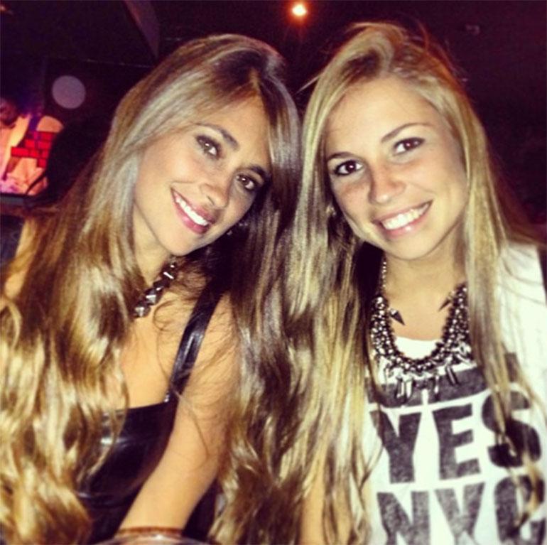Antonela y Carla las hermanas Rocuzzo dueñas de una belleza natural