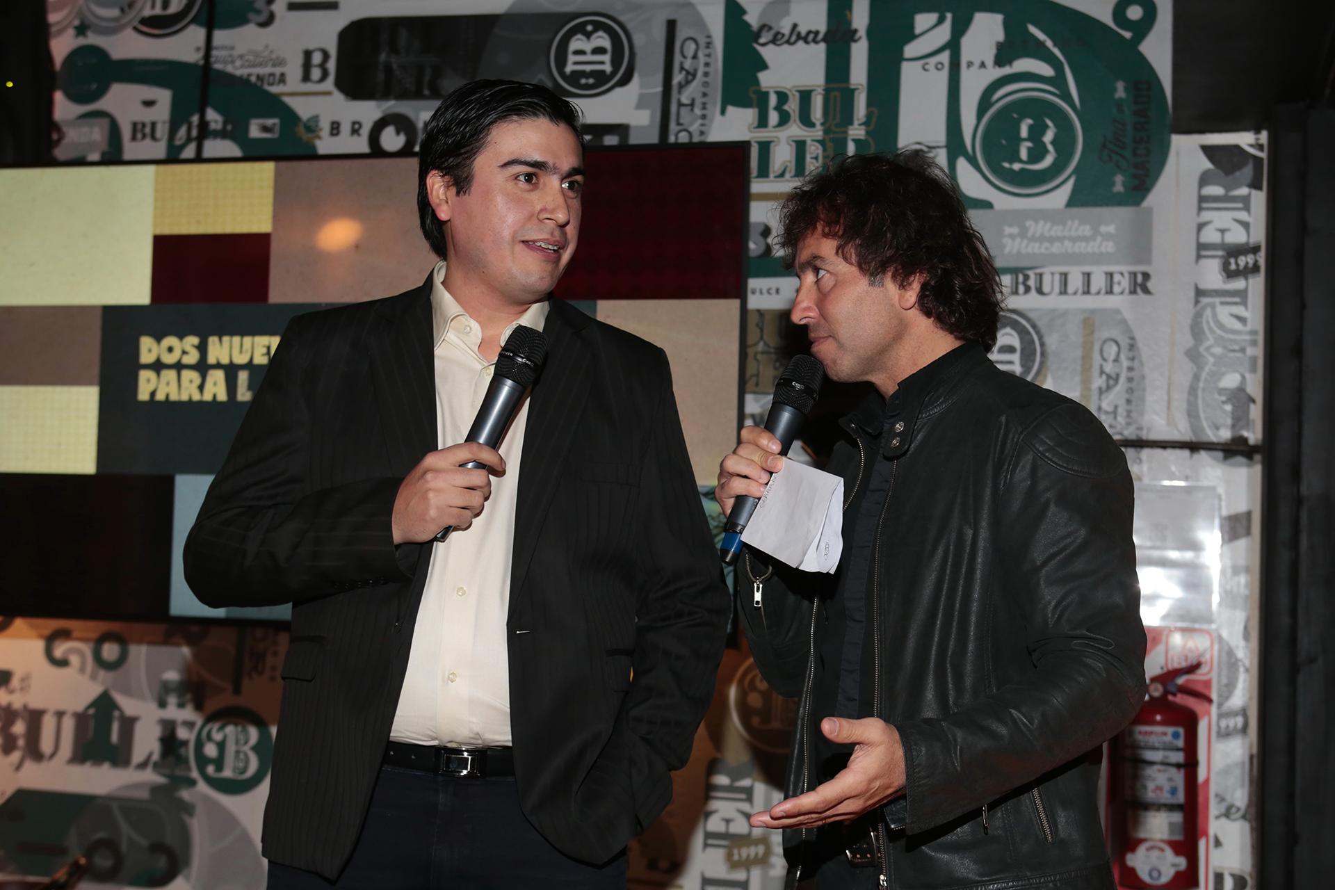 Gerardo Alvides, gerente de Calidad de Isenbeck, durante la presentación
