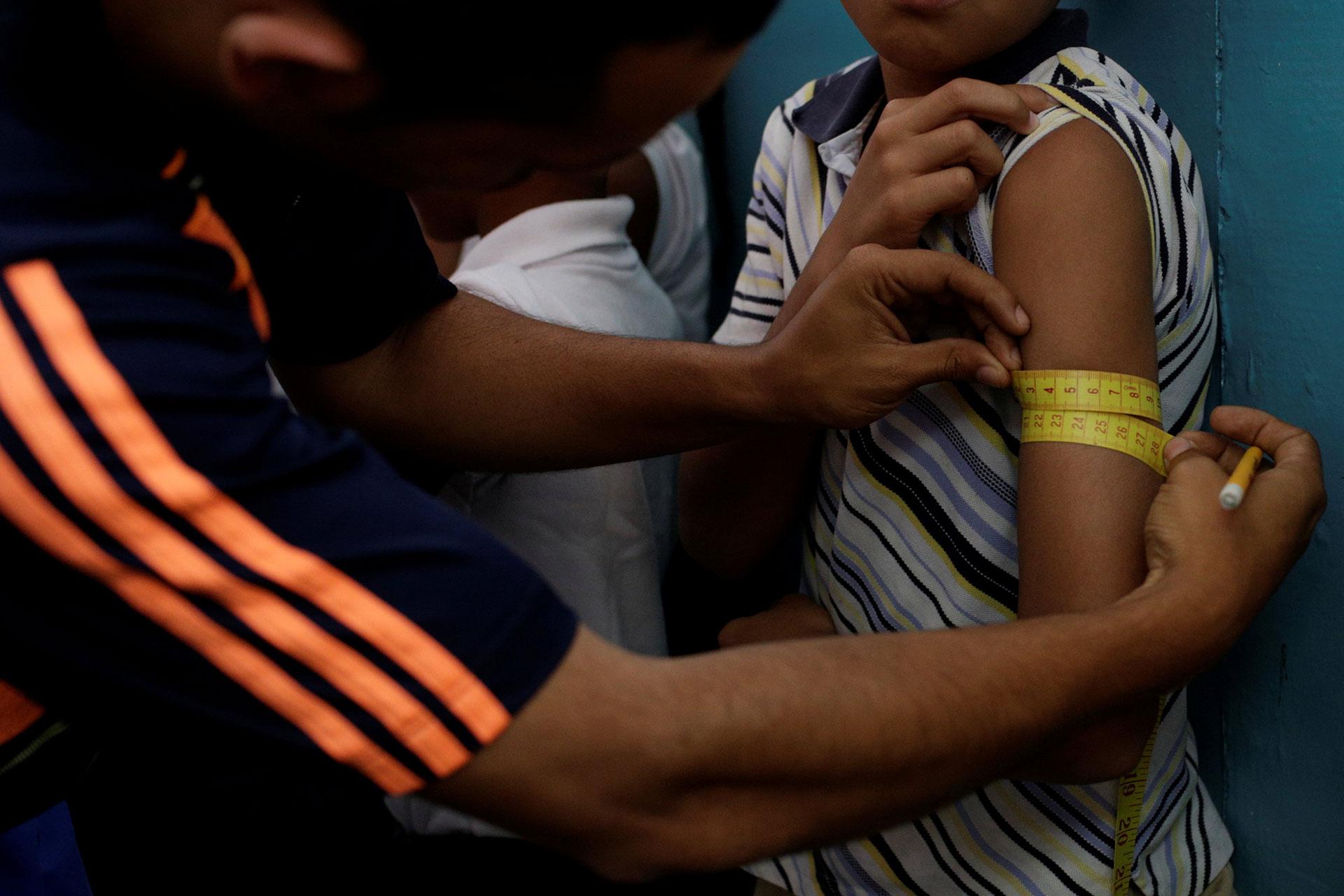 Muchos murieron víctimas de patologías que, de acuerdo a la Sociedad de Pediatría local, pudieron ser prevenidas o fácilmente tratadas, como diarreas o infecciones bacterianas (Reuters)
