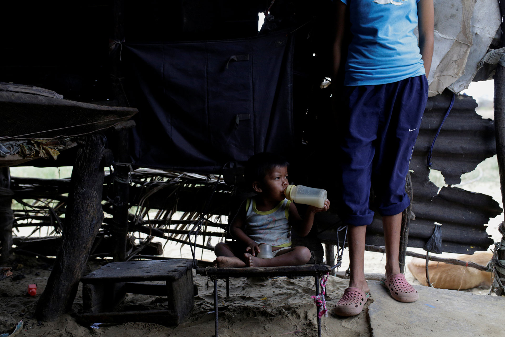 El Gobierno anunció recientemente que varias toneladas de alimentos llegaron a sus puertos para paliar el desabastecimiento. Pero el arribo pareciera insuficiente en un país con poca variedad de productos y la inflación más alta del continente (Reuters)