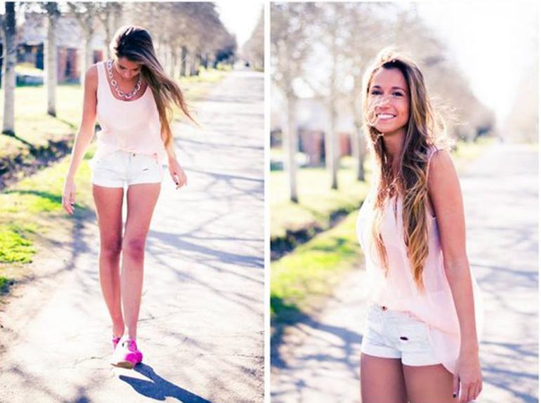 Natural, simple y fotogénica así es Carla Roccuzzo, la hermana menor de Antonela, la cuñada botinera sexy