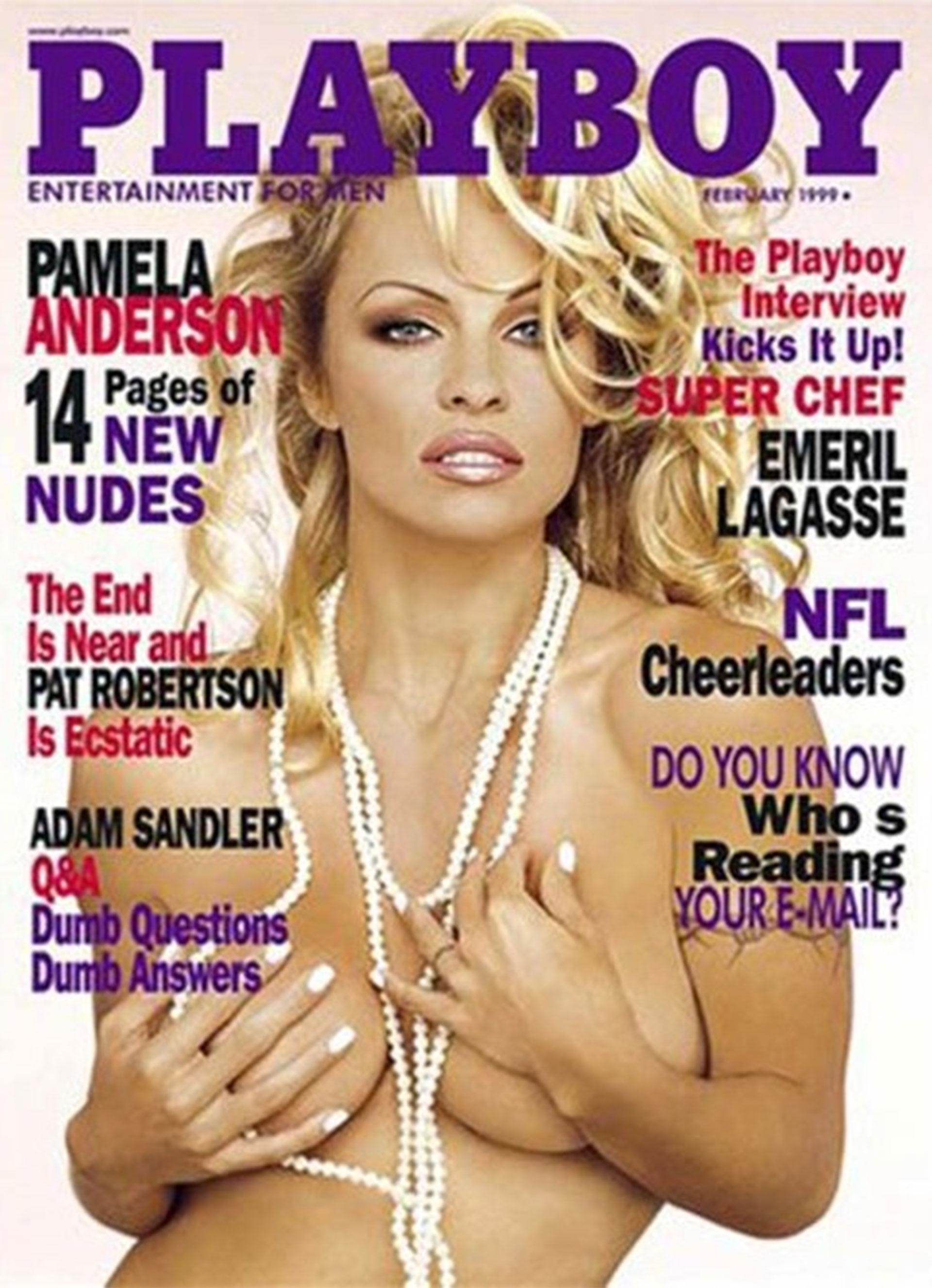 Pamela Anderson fue tapa de la revista Playboyen numerosas ocasiones.