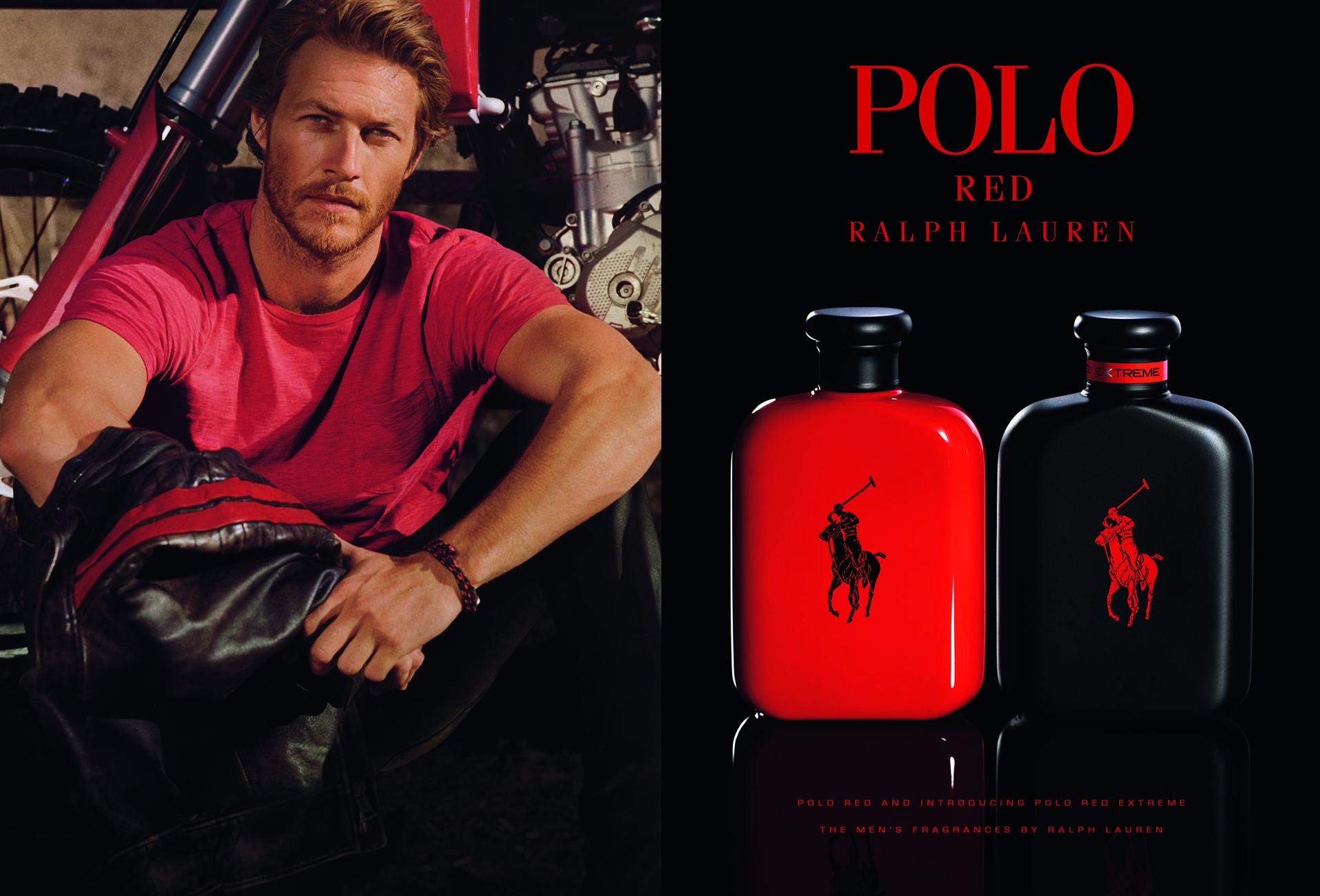 Luke Bracey para la fragancia Polo Ralph Lauren Red