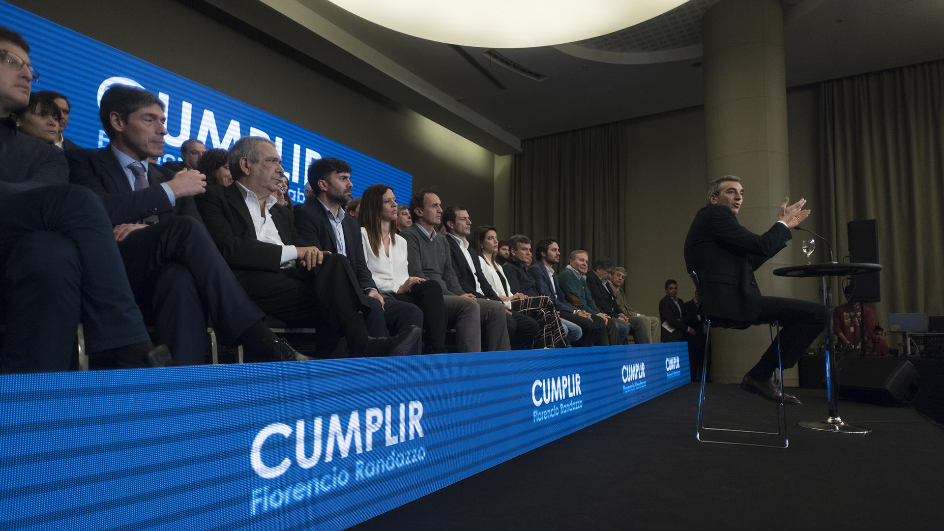 El ex ministro se mostró lejos del estilo de comunicación tradicional del PJ (Adrián Escandar)