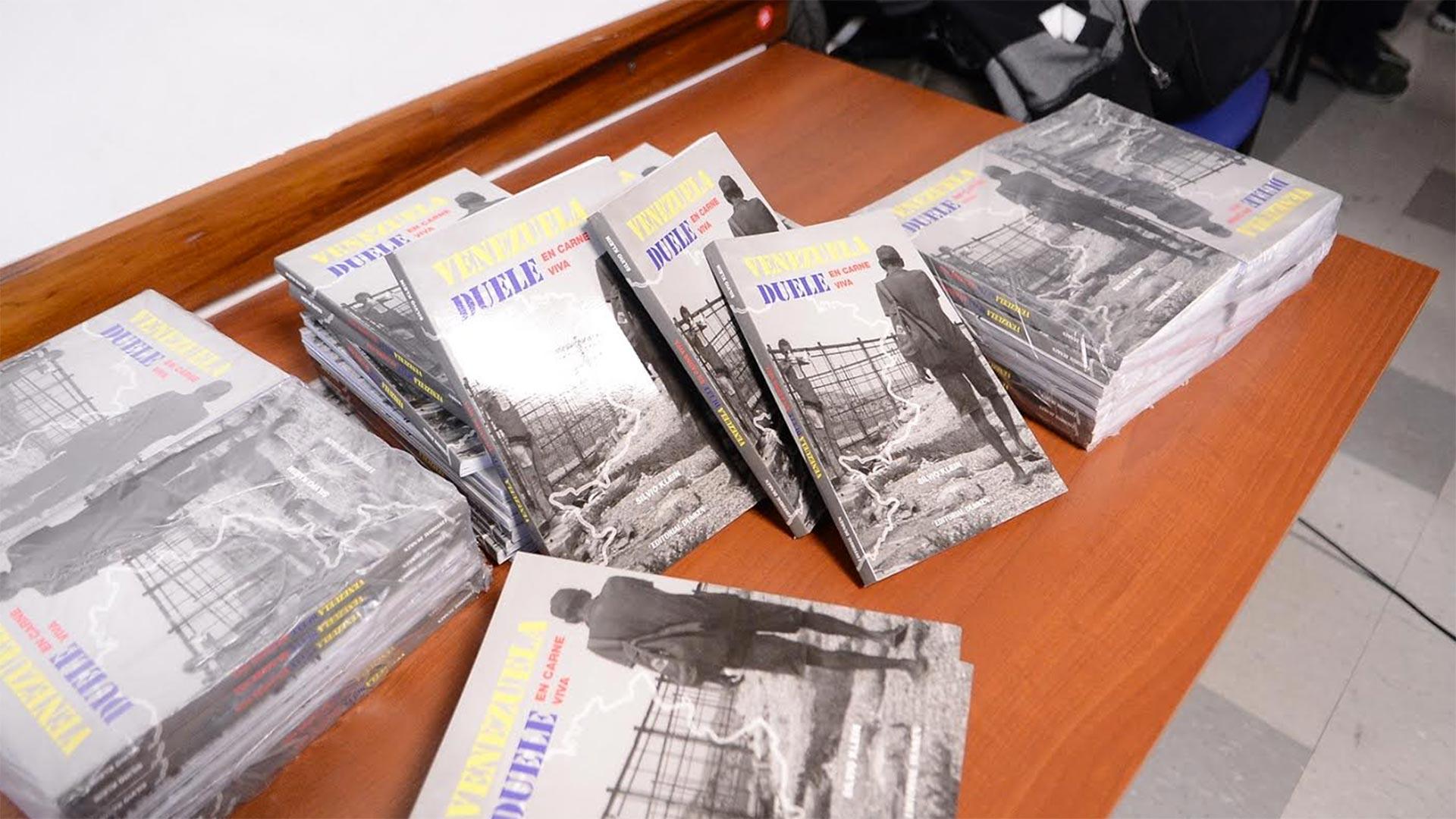 """La reunión tuvo como propósito la presentación del libro """"Venezuela duele"""", de Silvio Klein"""