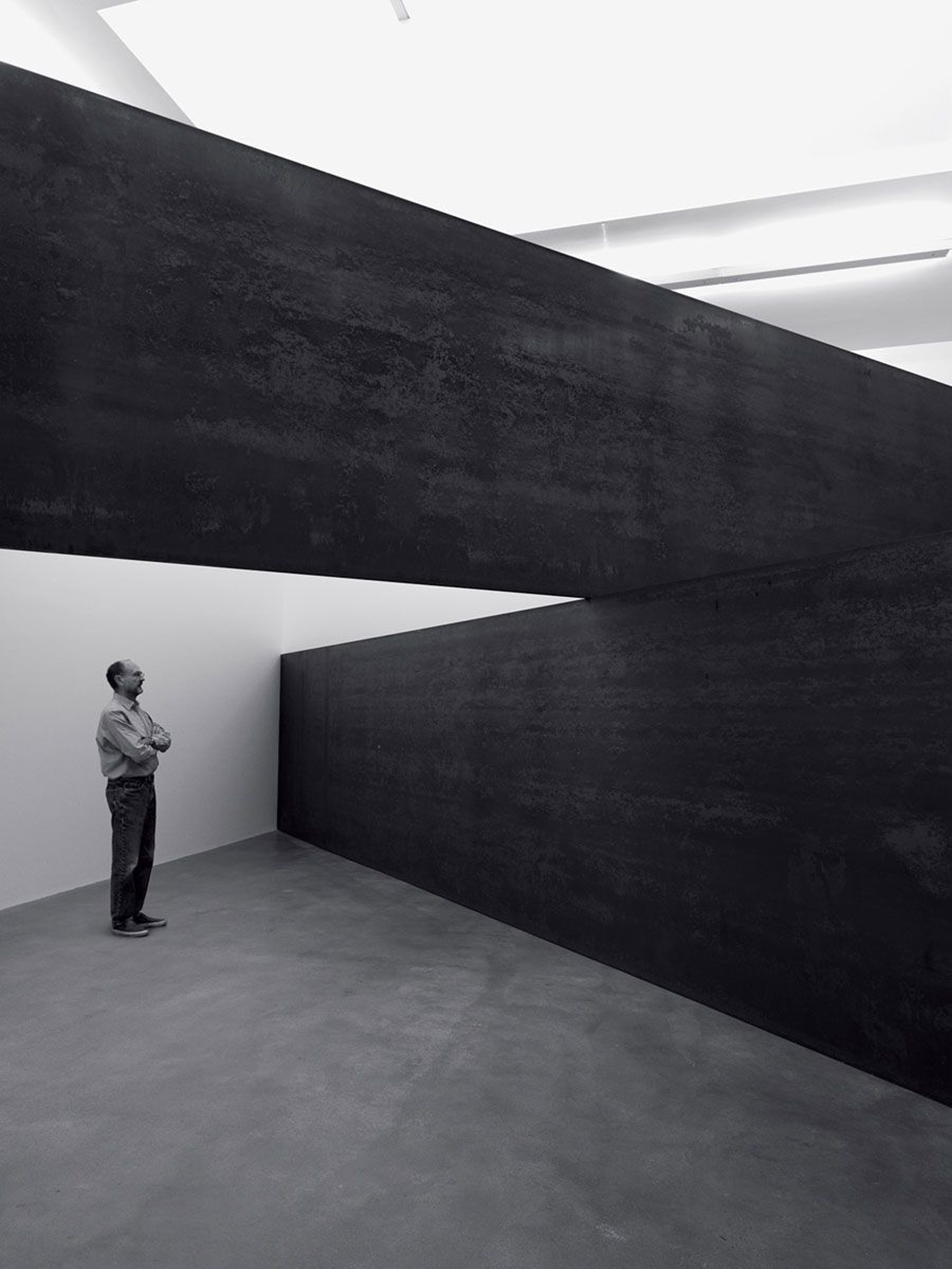 "Richard Serra, ""London Cross"" (2014)"