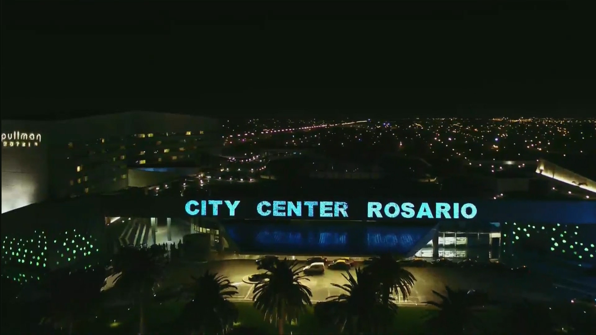 El hotel City Center de Rosario fue el lugar elegido porLionel Messi y Antonela Roccuzzo para la gran fiesta