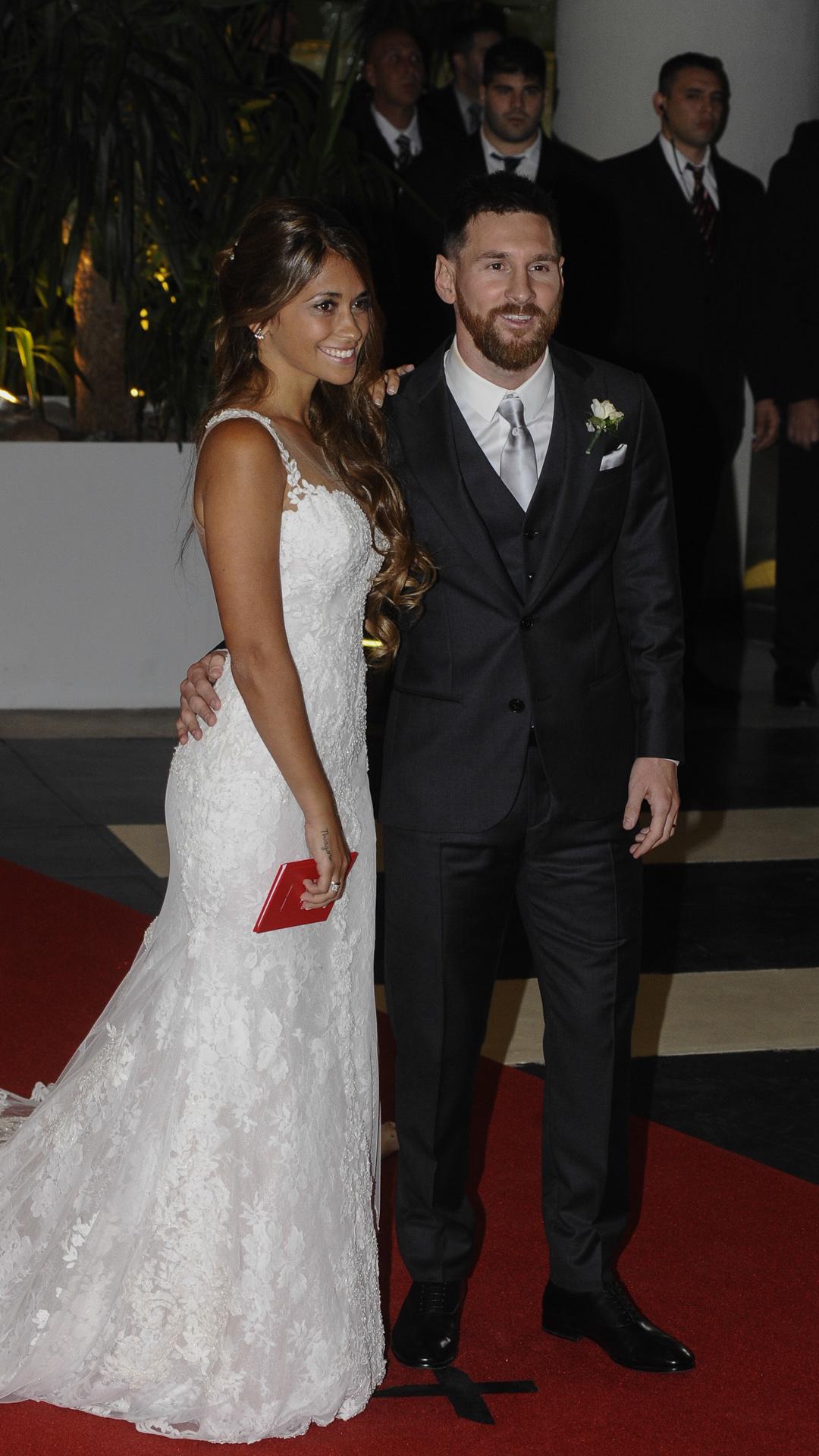 Messi elegió un look clásico con impronta europea (Martín Villar)