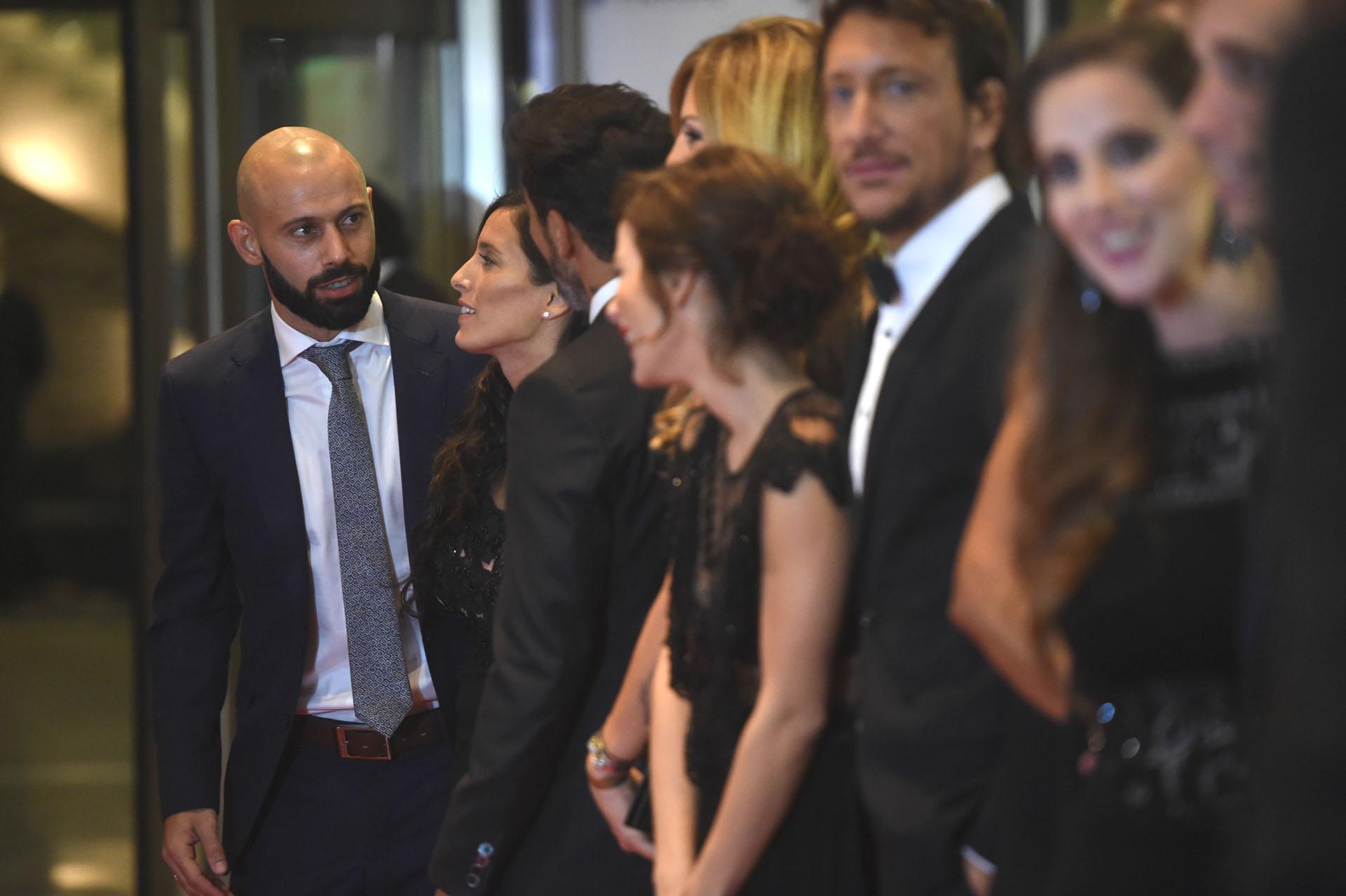 Javier Mascherano sorprendió con su frondosa barba