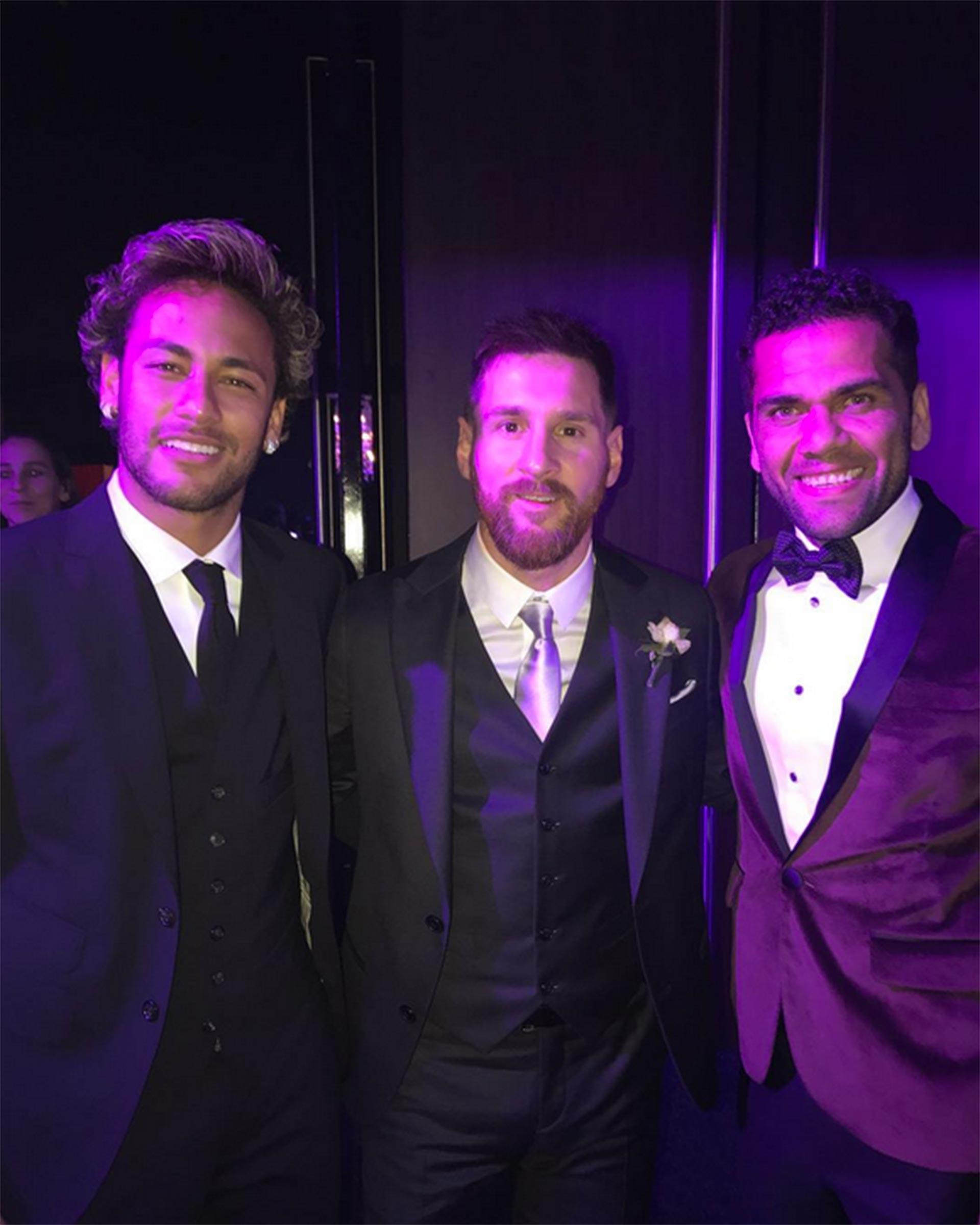 La imagen que publicó Neymar en las redes sociales