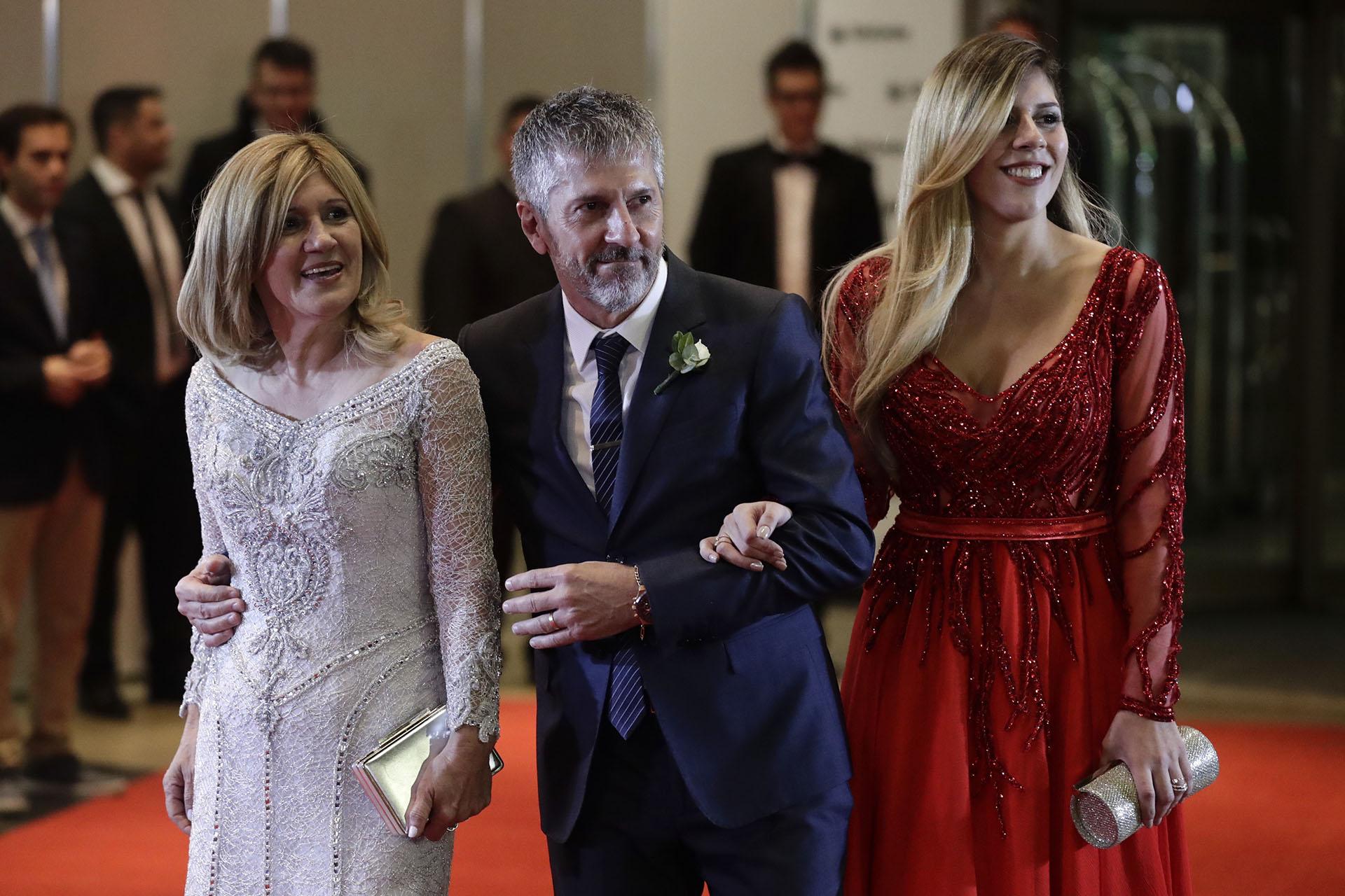 La familia de Lionel Messi: su mamáCelia, su papá Jorge y su hermana Sol