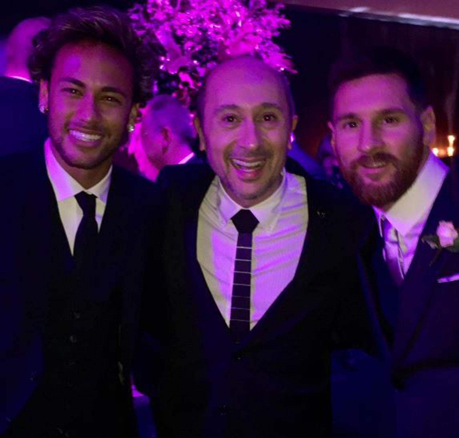 Las fotos filtradas por los famosos en la boda de Antonela Roccuzzo ...