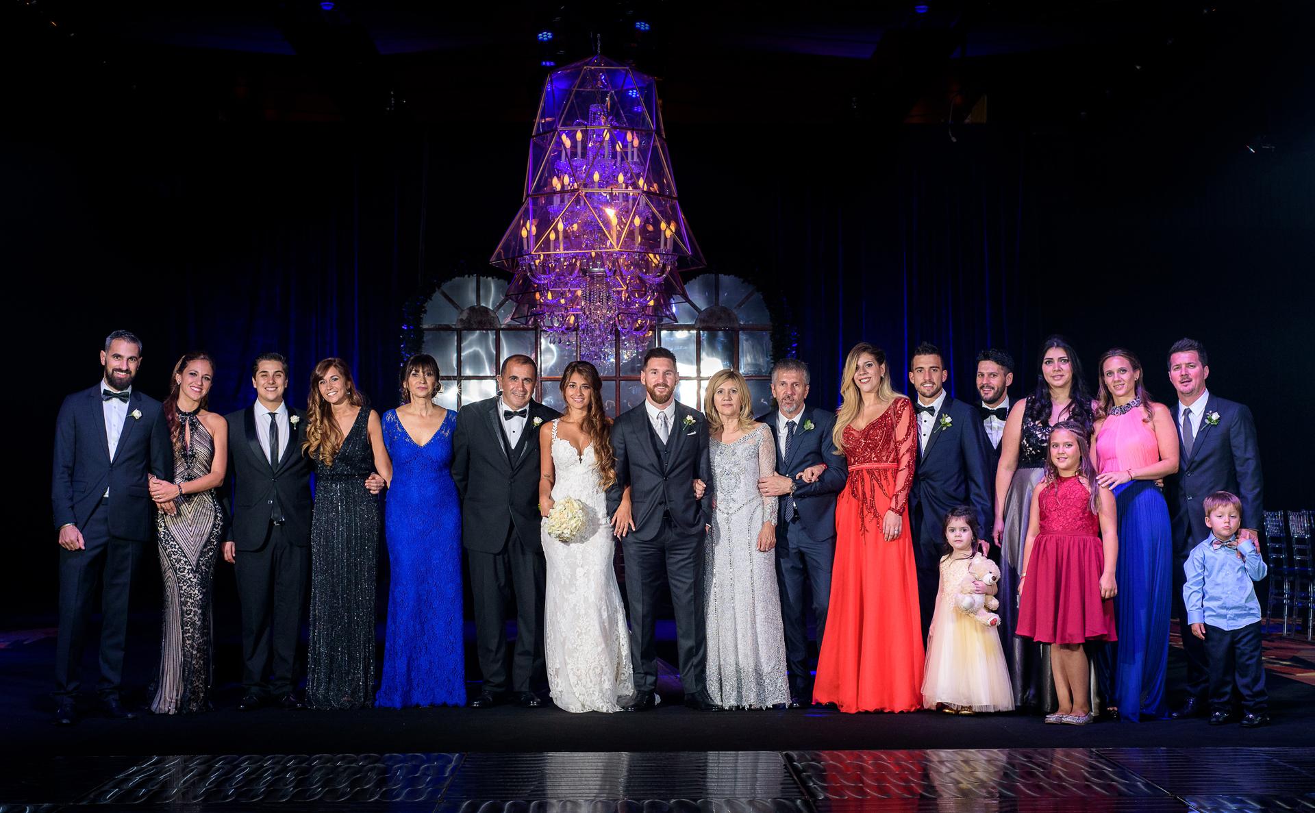 El casamiento del año tuvo lugar en el City Center, en la ciudad de Rosario