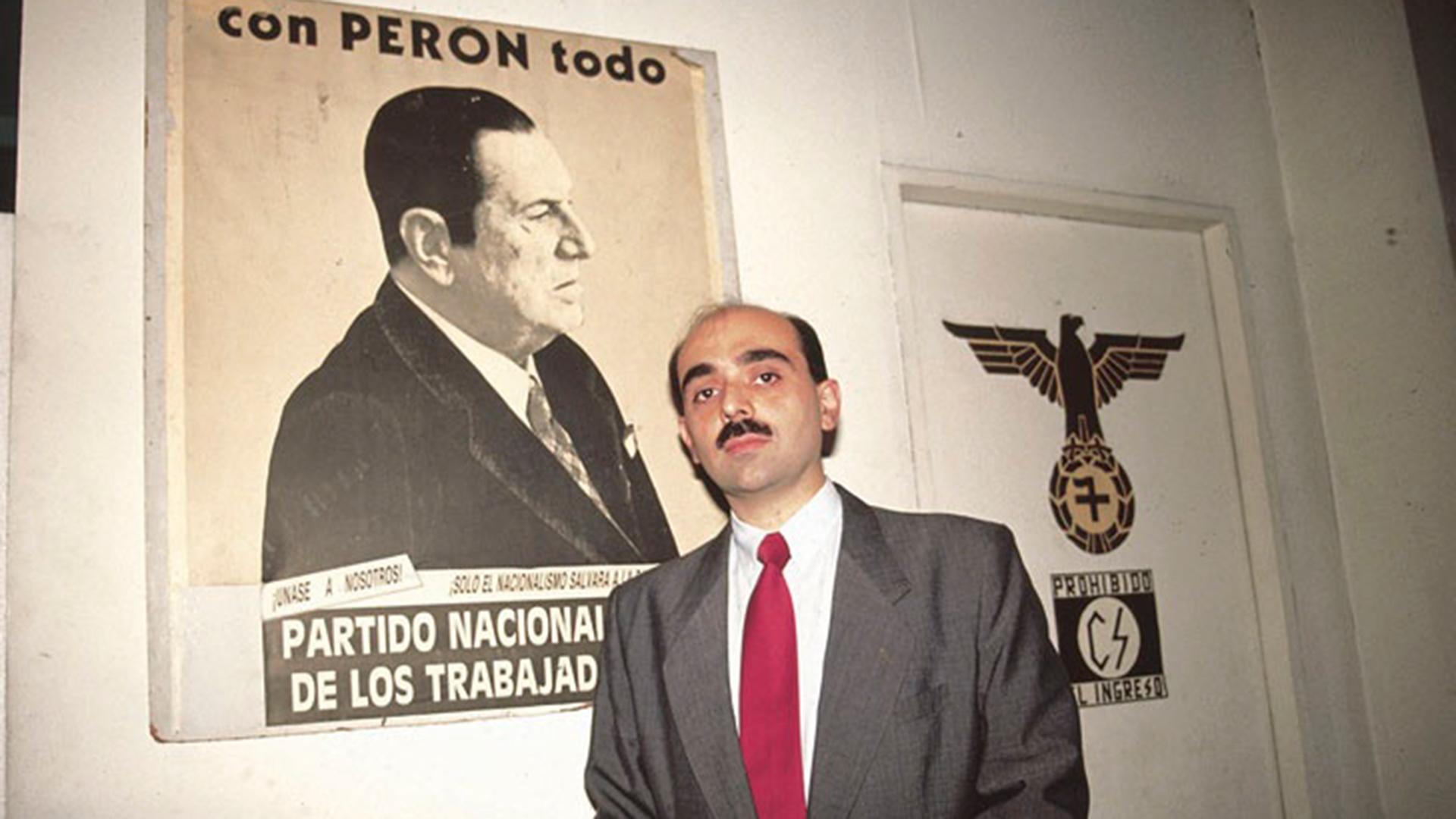 Alejandro Biondini, presidente del Partido Vecinal
