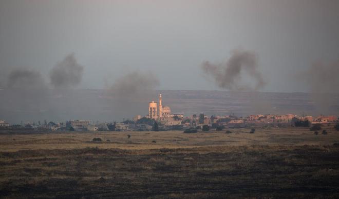 Los Altos del Golán, el territorio israelí que intentó atacar Irán (EFE)