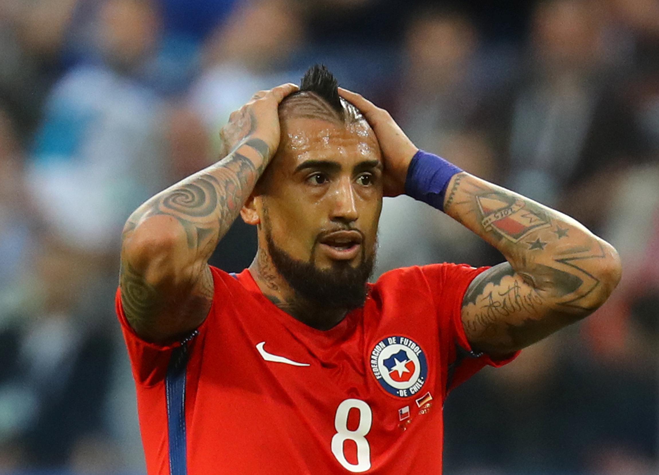 Arturo Vidal (Reuters)