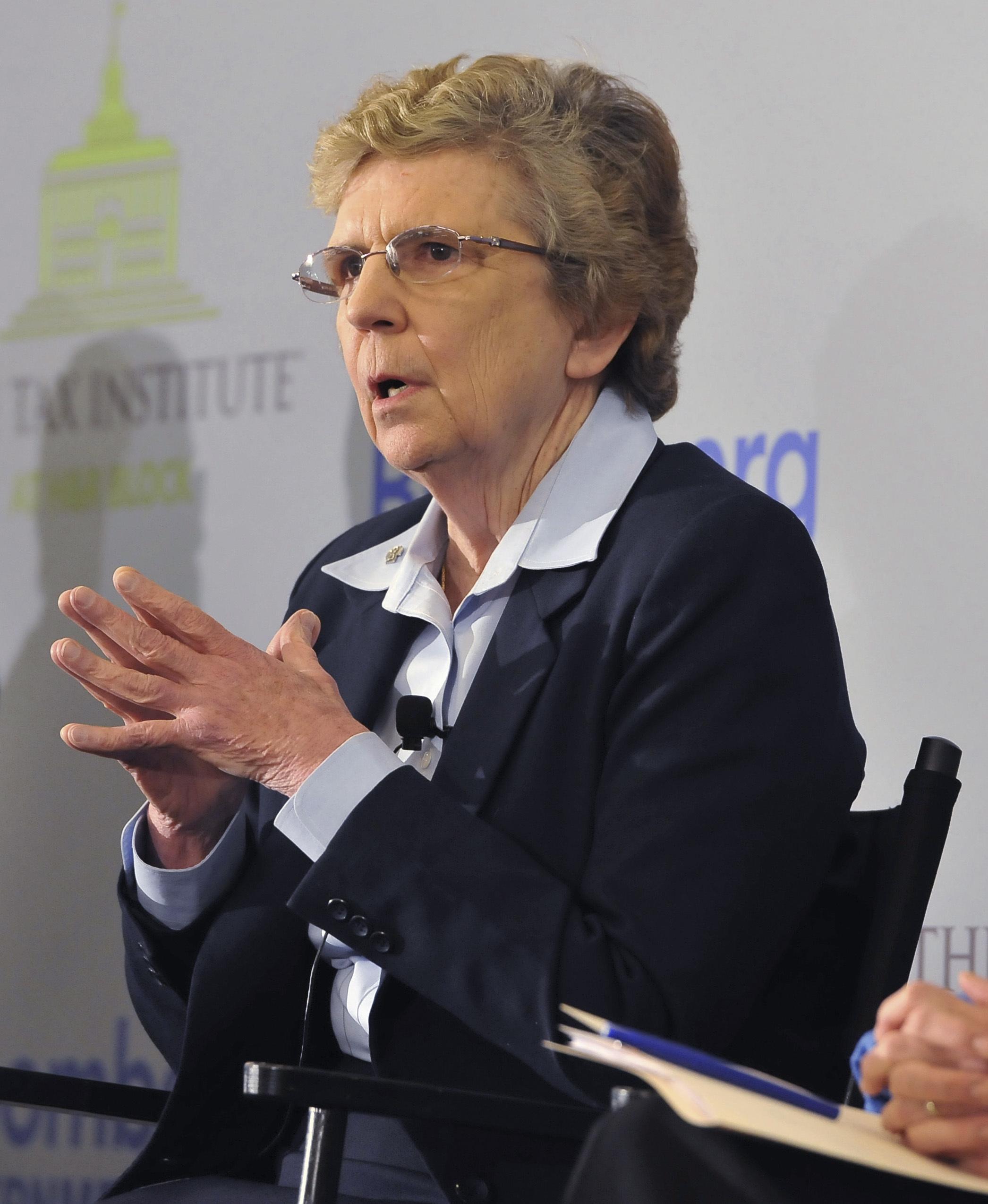 La hermana Carol Keehan lideró una segunda investigación que en 2015 dijo no haber encontrado los problemas denunciados un año antes(Larry French/AP)