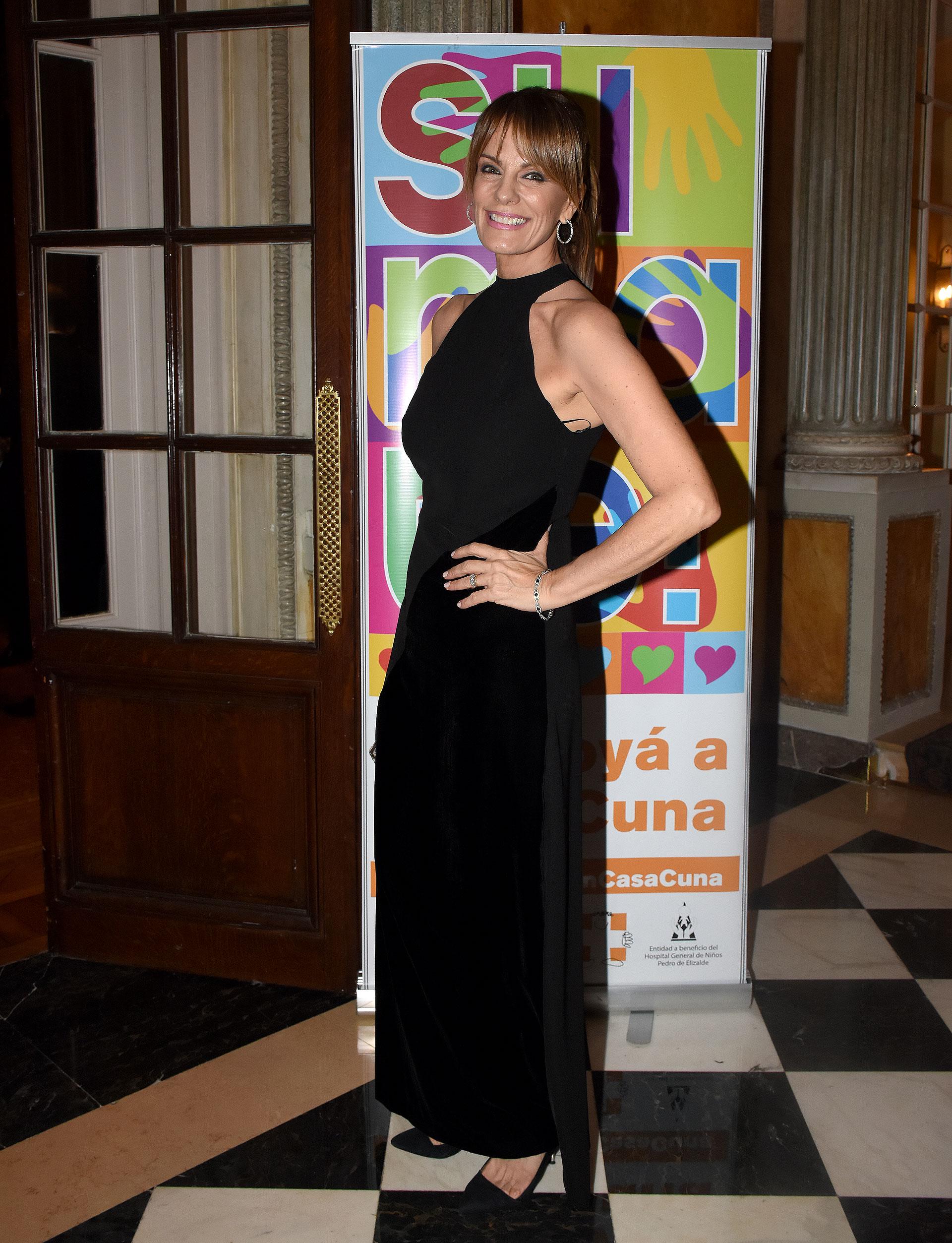 Nequi Galotti estuvo a cargo de la conducción de la gala