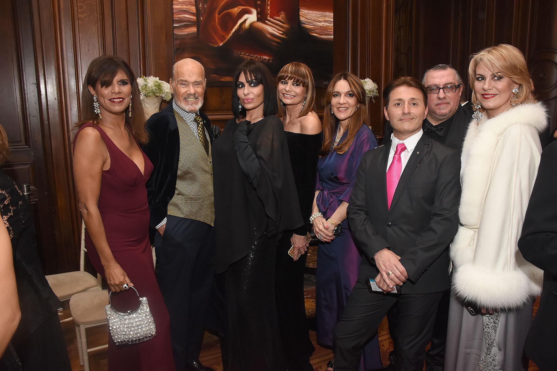 Anamá Ferreira, Gino Bogani, Daniela Cardone, Lucía Miranda, Daniel Gómez Rinaldi, Javier Musetti y Florencia Florio