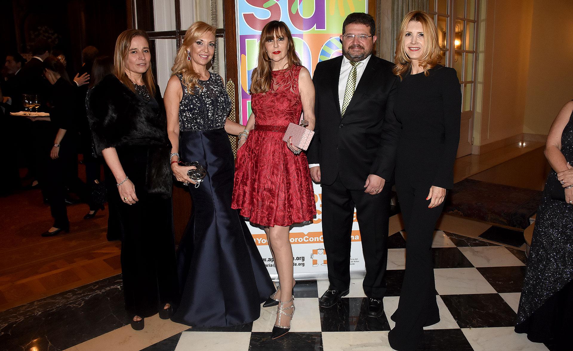 Stella García Vigo, Guchy Zappa, Muñeca Moore, Martín Larregina y Grace Grisolía