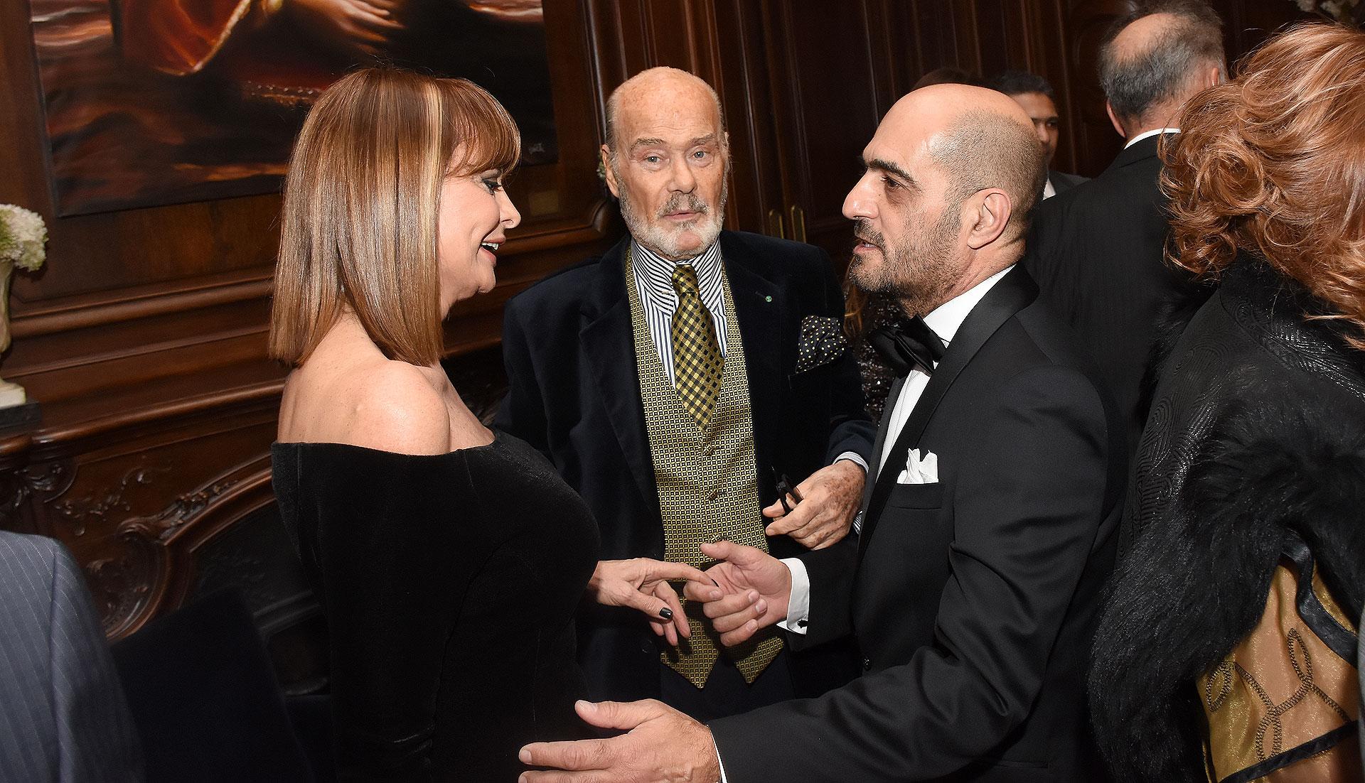 Lucía Miranda, Gino Bogani y Walter D'Aloia Criado